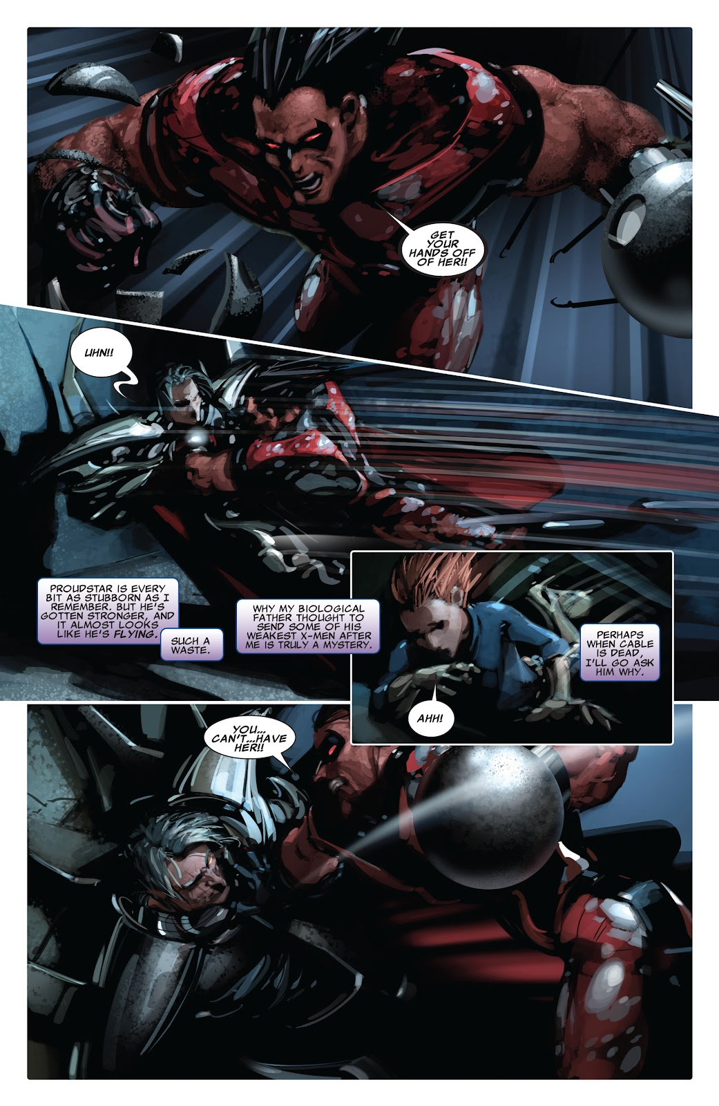 Read online X-Force/Cable: Messiah War comic -  Issue # _TPB (Part 2) - 70
