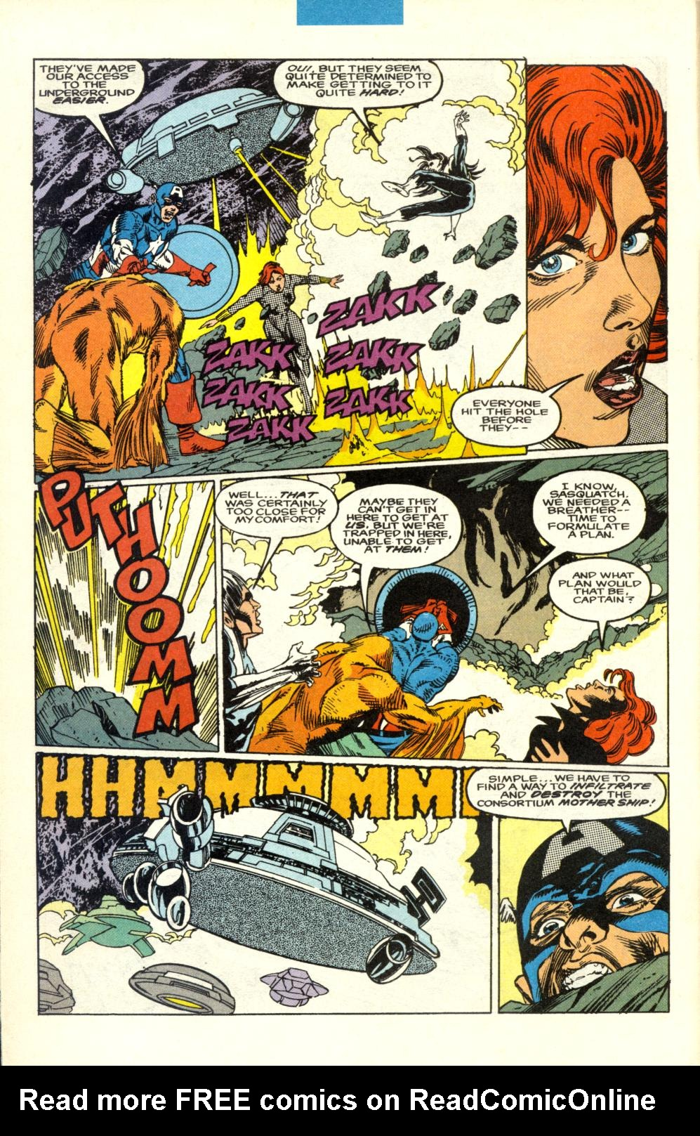 Read online Alpha Flight (1983) comic -  Issue #100 - 5