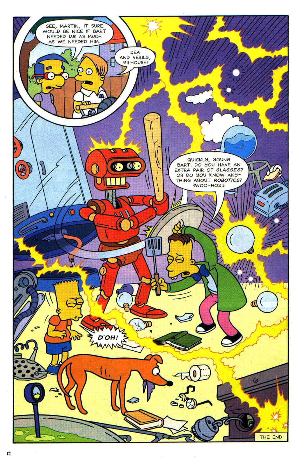Read online Simpsons Comics Presents Bart Simpson comic -  Issue #19 - 28