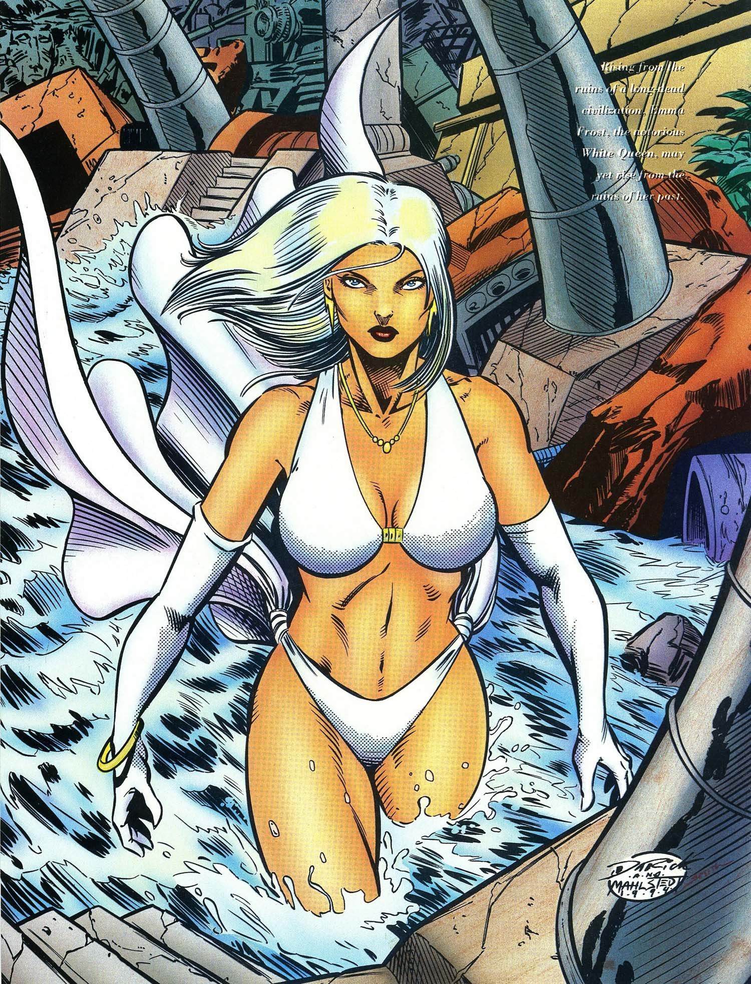 Read online Marvel Swimsuit Special comic -  Issue #3 - 37
