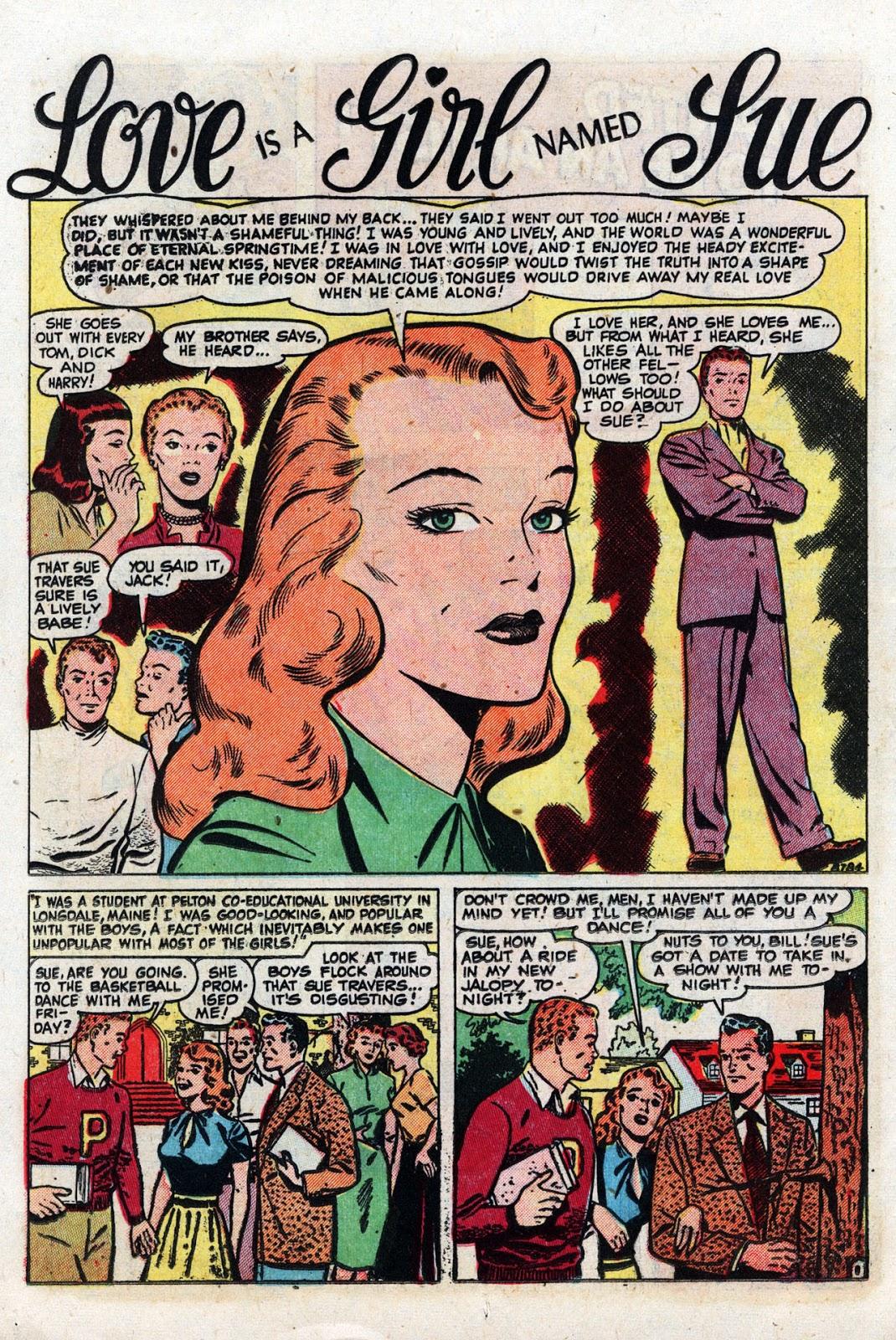 Love Romances (1949) issue 19 - Page 12