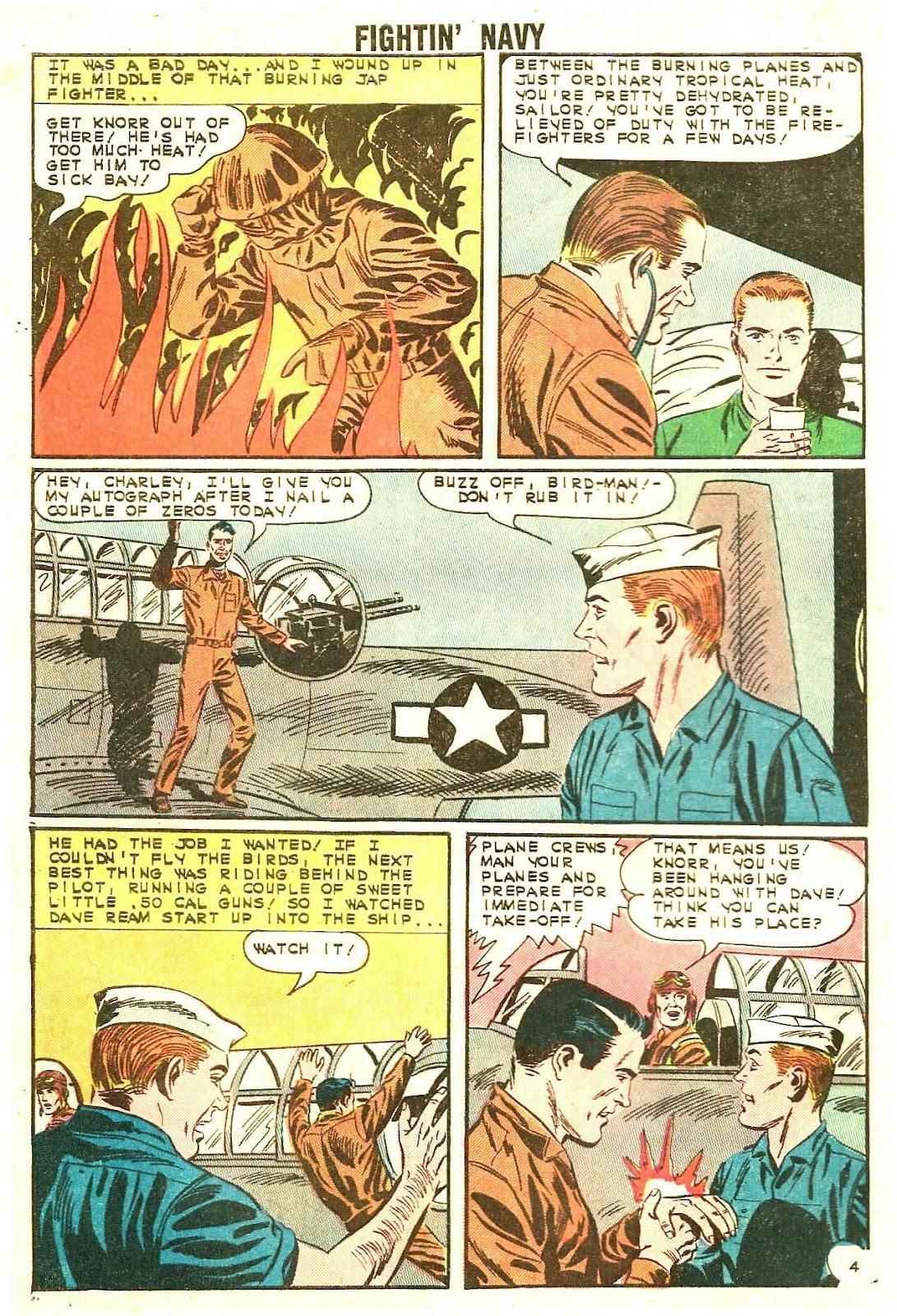 Read online Fightin' Navy comic -  Issue #114 - 28