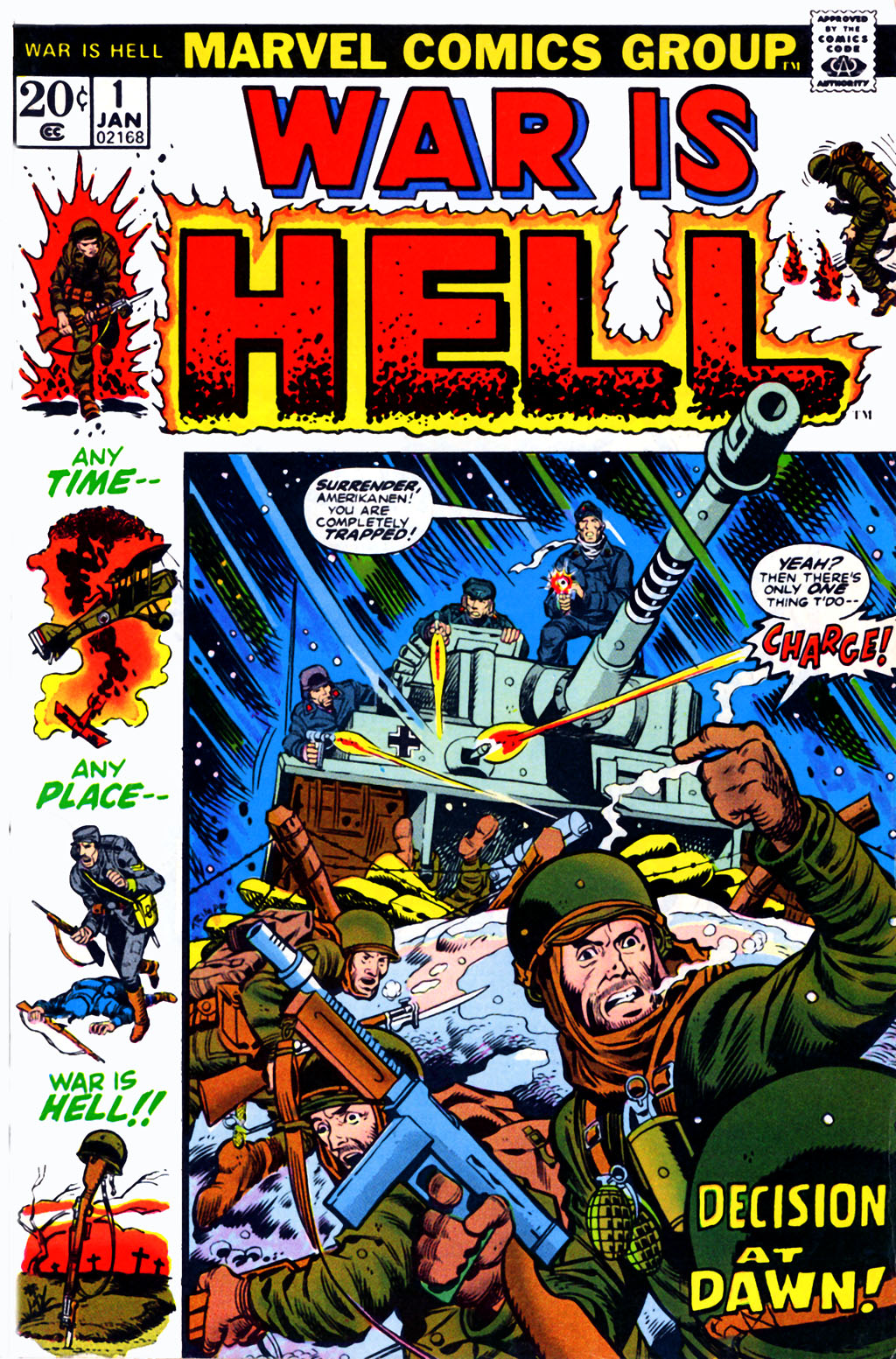 War Is Hell (1973) issue 1 - Page 1