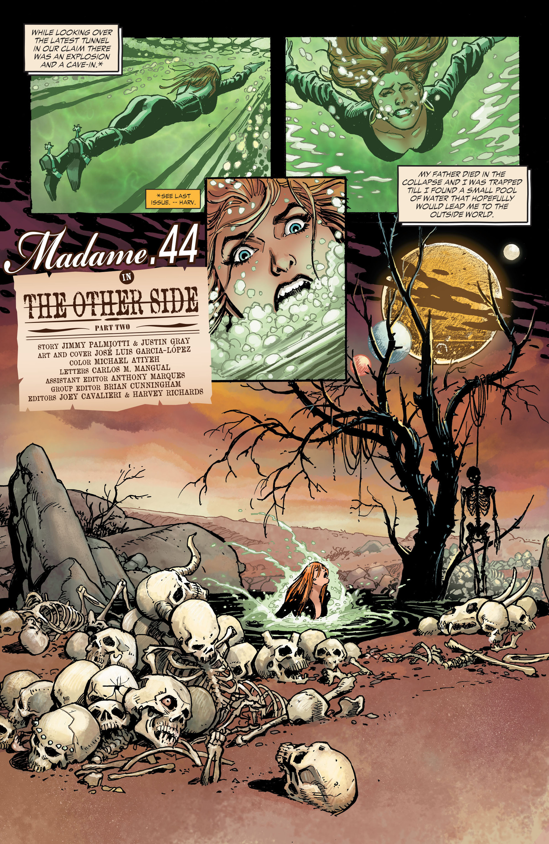 Read online All-Star Western (2011) comic -  Issue #31 - 14