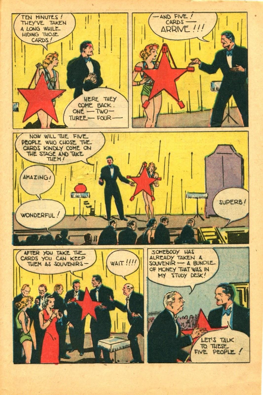 Read online Super-Magician Comics comic -  Issue #49 - 47