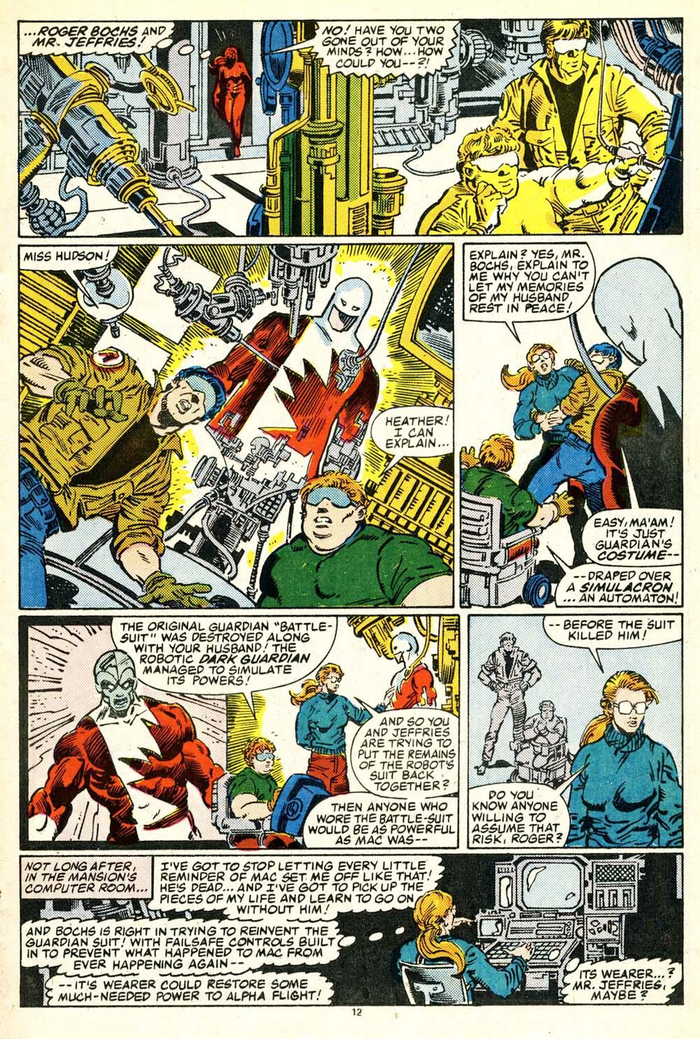 Read online Alpha Flight (1983) comic -  Issue #30 - 13