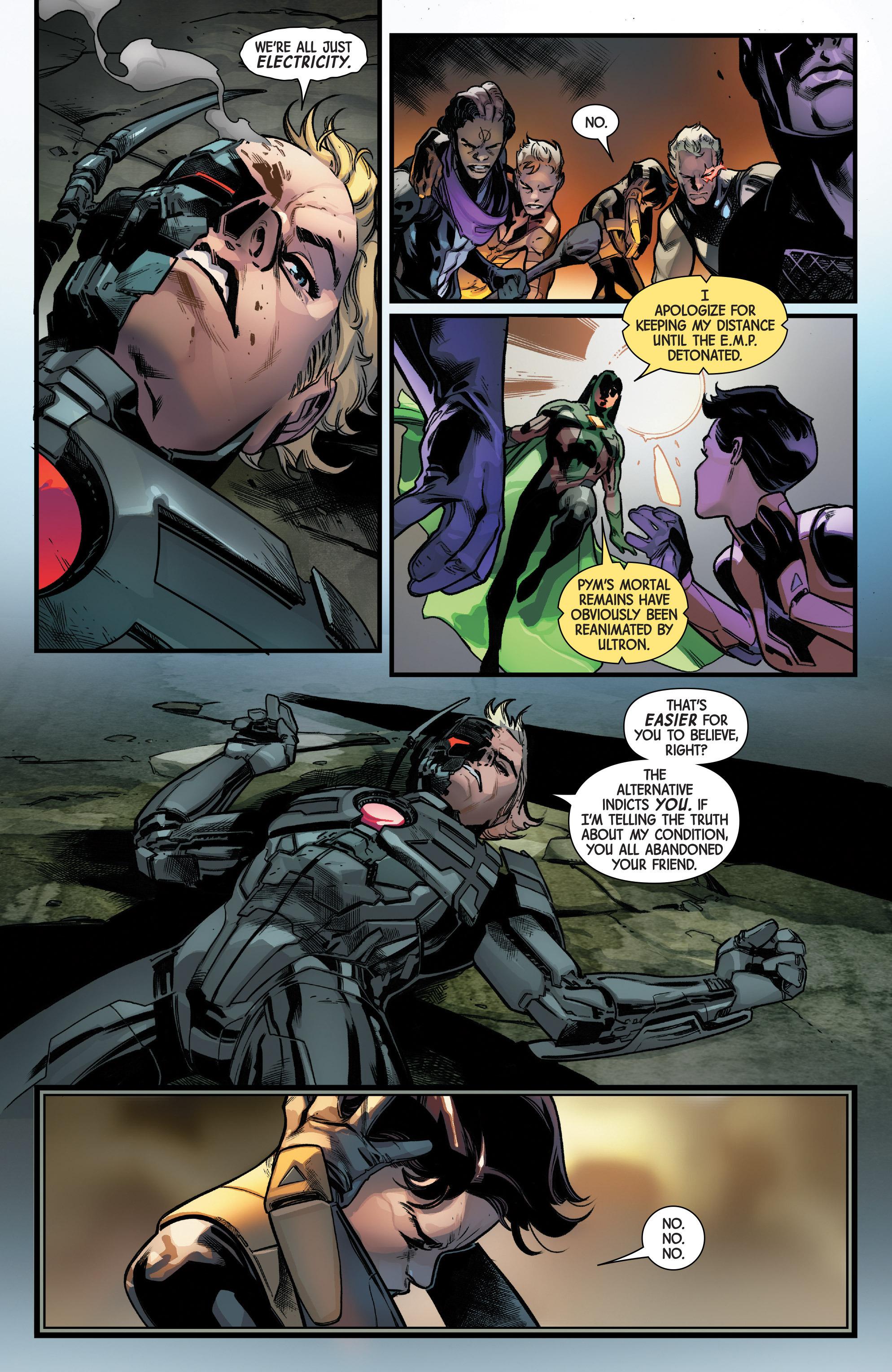 Read online Uncanny Avengers [II] comic -  Issue #11 - 18