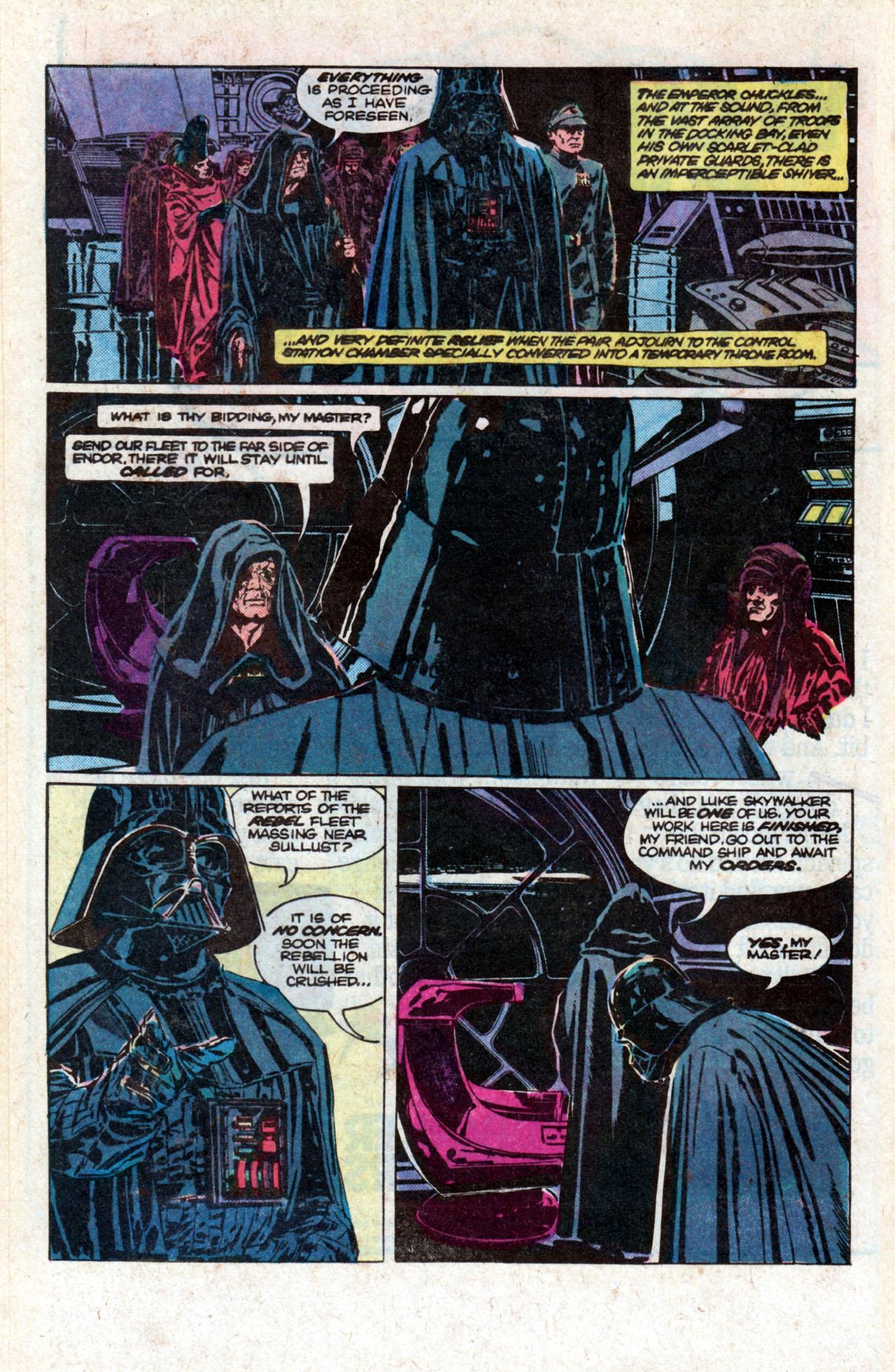 Read online Star Wars: Return of the Jedi comic -  Issue #2 - 19
