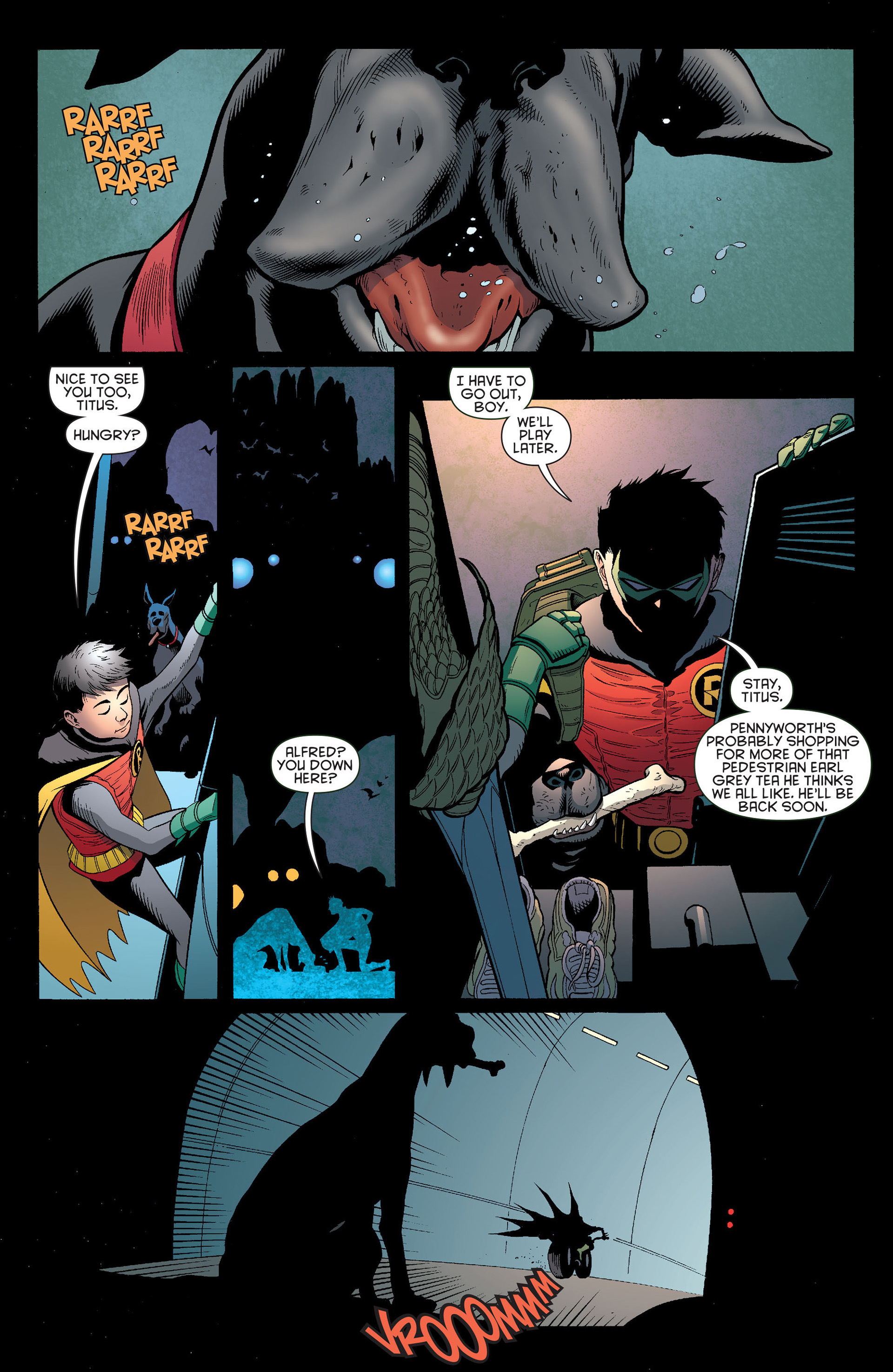 Read online Batman and Robin (2011) comic -  Issue #13 - 10