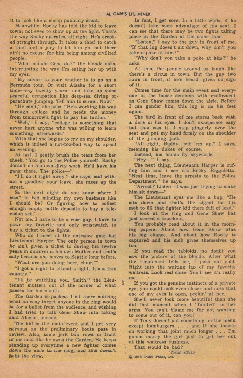 Li'l Abner Comics issue 77 - Page 30