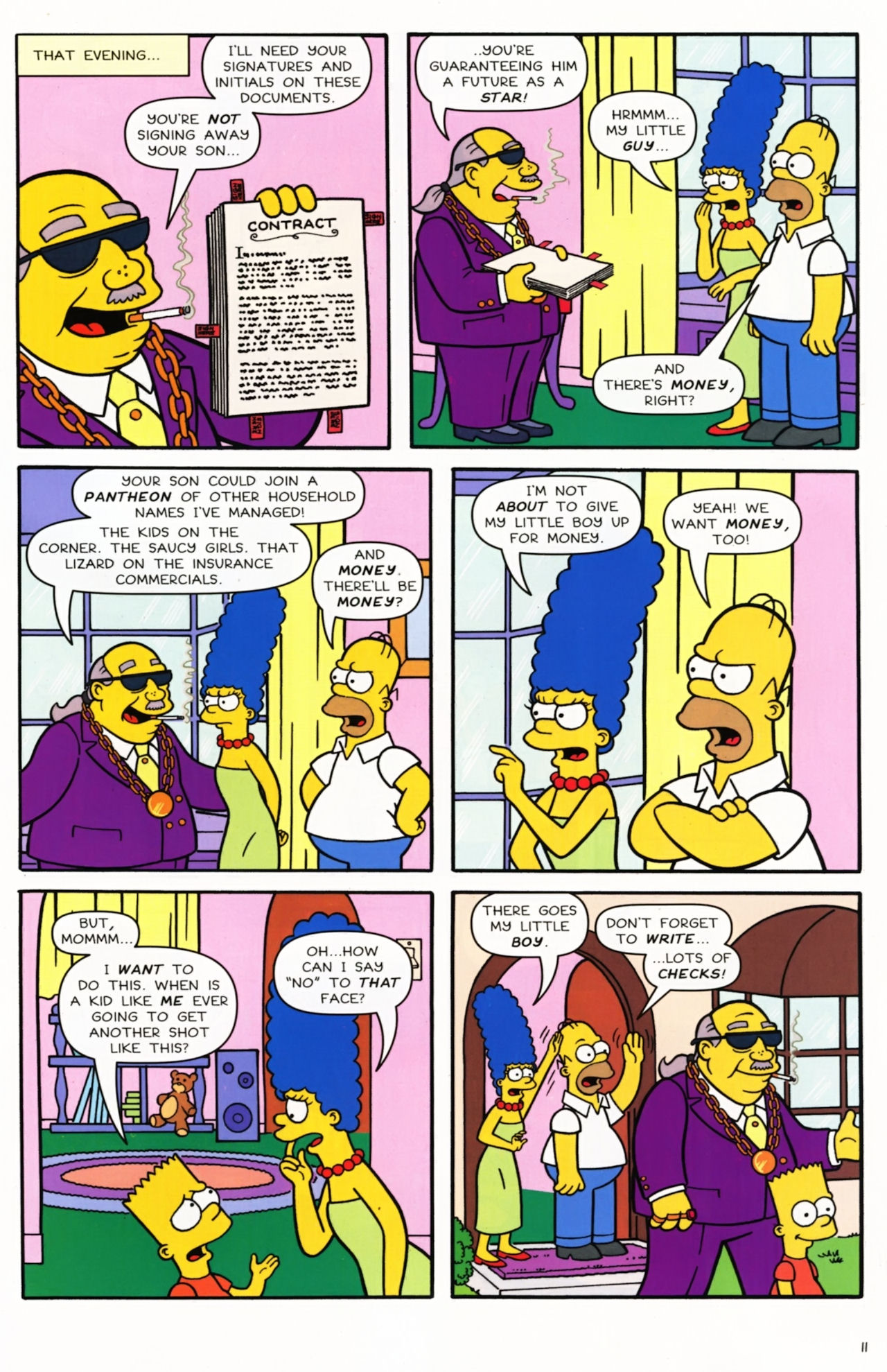 Read online Simpsons Comics comic -  Issue #173 - 9