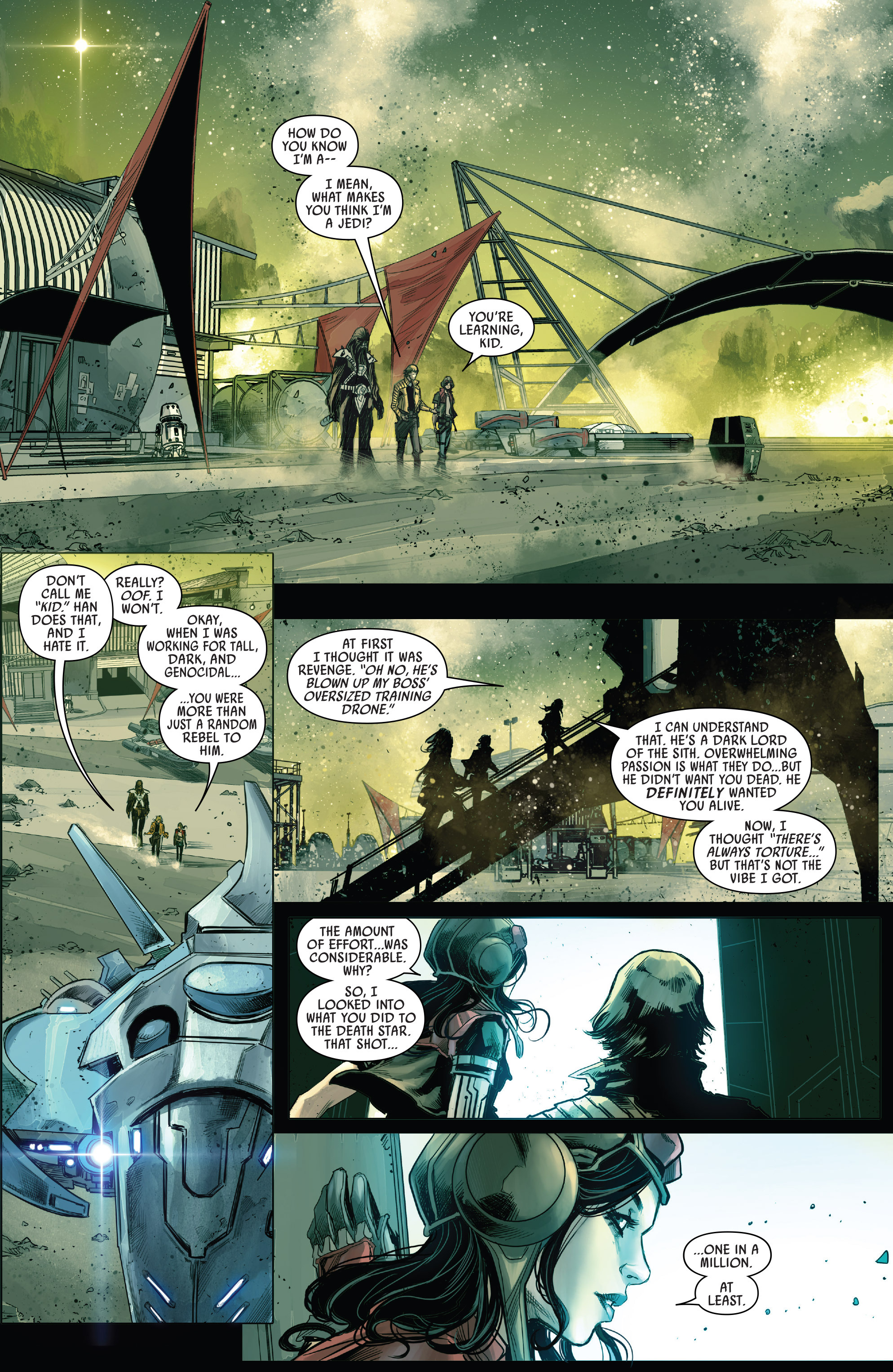 Read online Star Wars: The Screaming Citadel comic -  Issue # Full - 10
