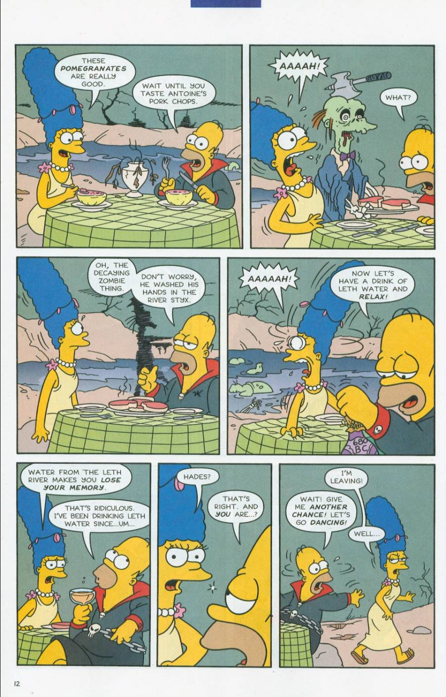 Read online Simpsons Comics comic -  Issue #70 - 13