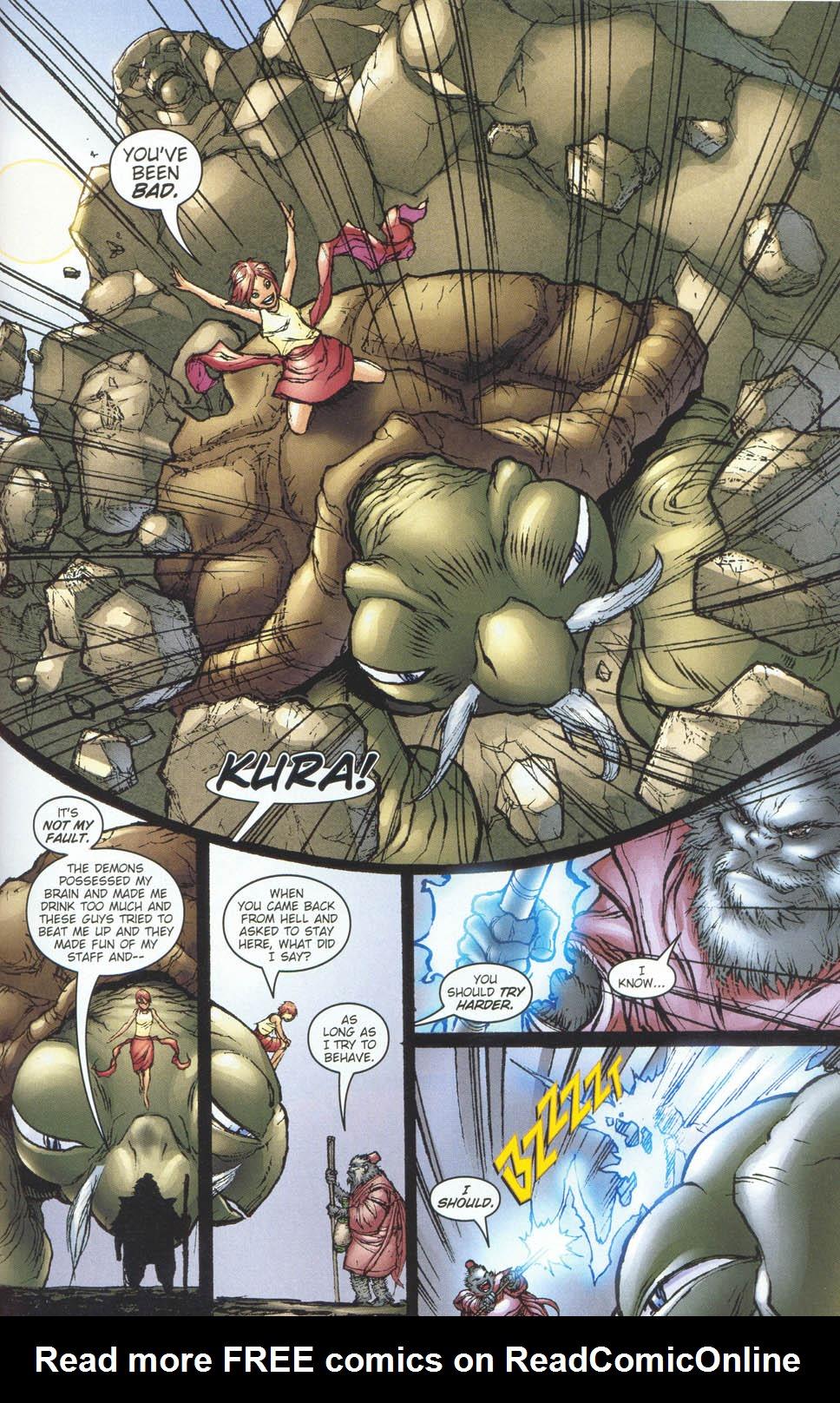 Read online Ninja Boy comic -  Issue #5 - 21