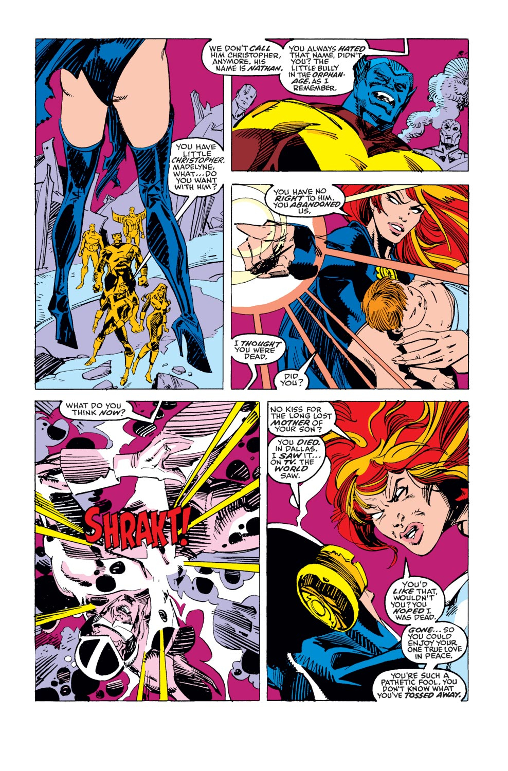 Read online X-Factor (1986) comic -  Issue #37 - 9
