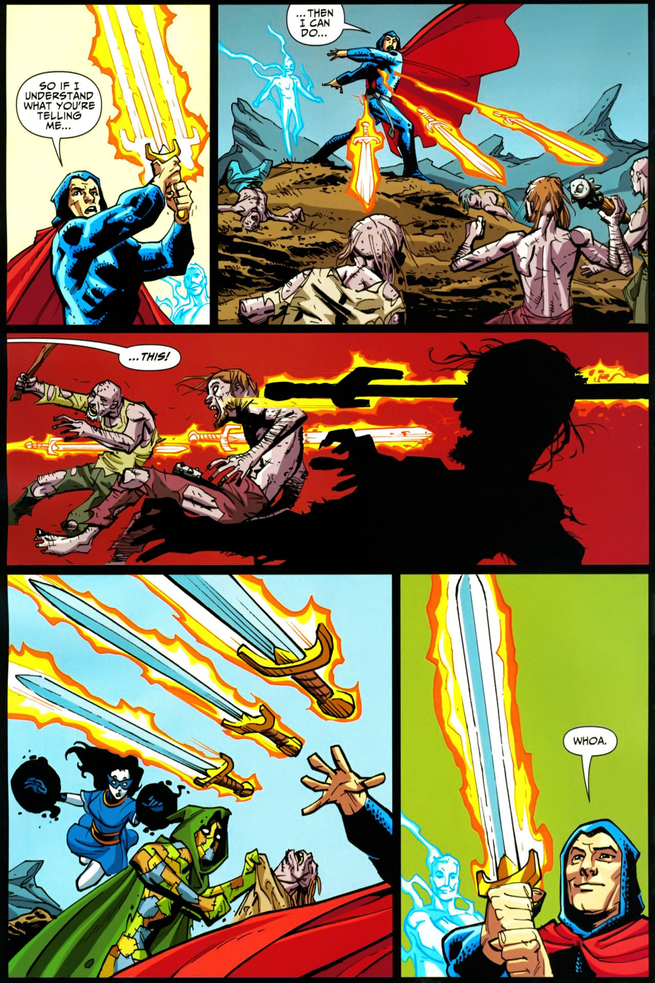 Read online Shadowpact comic -  Issue #20 - 6