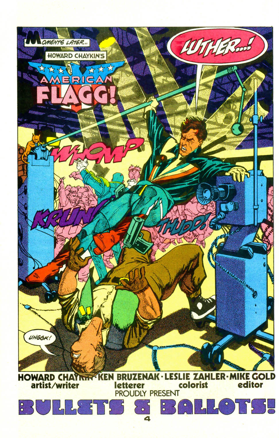 Read online American Flagg! comic -  Issue #19 - 6