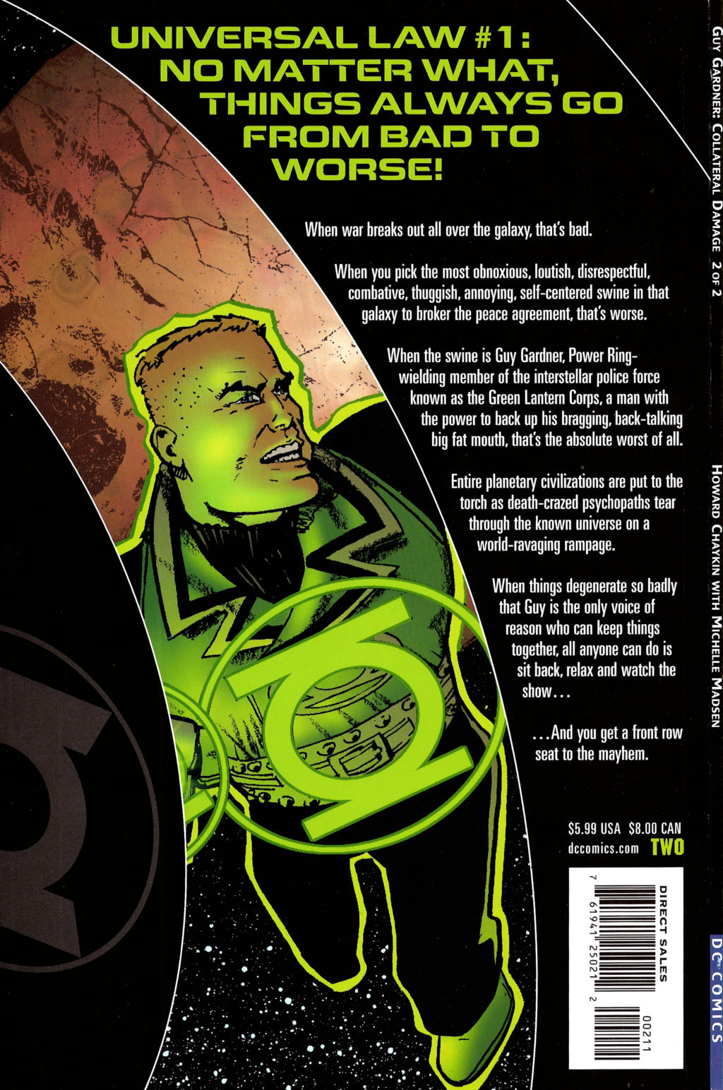Read online Guy Gardner: Collateral Damage comic -  Issue #2 - 47