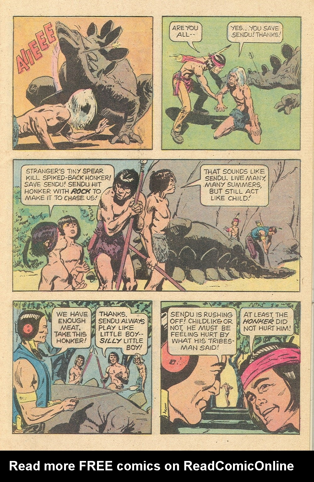 Read online Turok, Son of Stone comic -  Issue #129 - 5