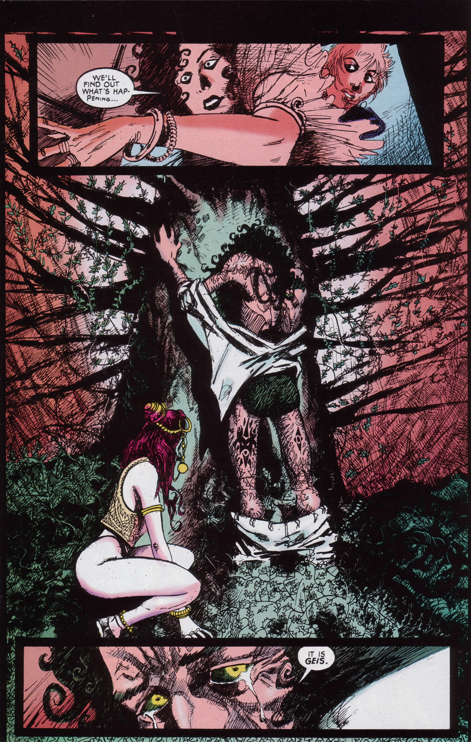 Read online Druid comic -  Issue #4 - 4