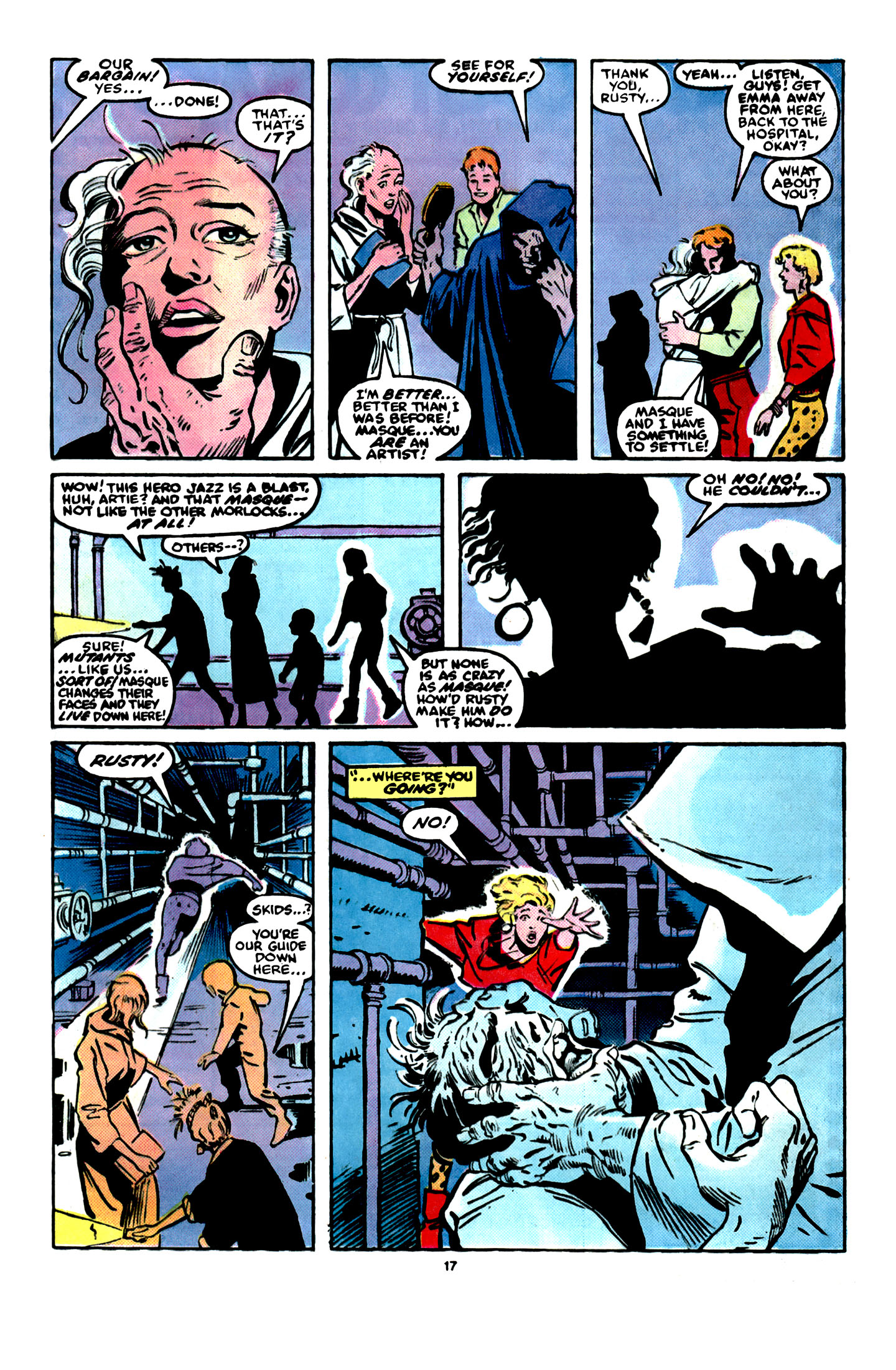 Read online X-Factor (1986) comic -  Issue #16 - 18