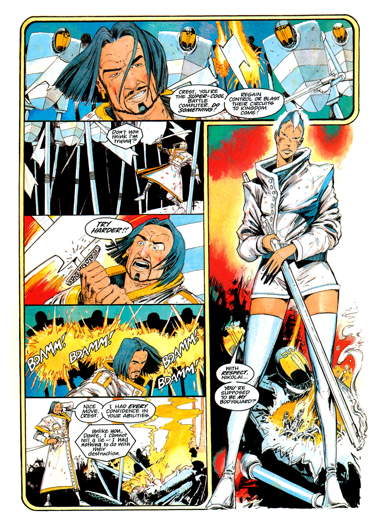 Read online Nikolai Dante comic -  Issue # TPB 1 - 163