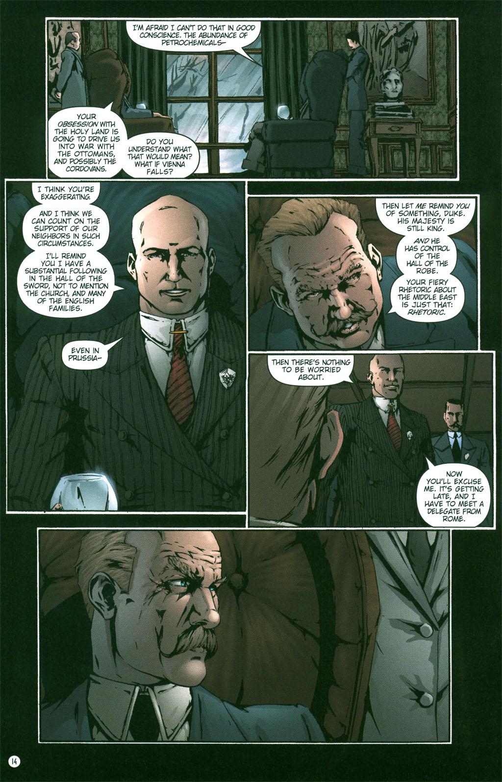 Read online Rex Mundi comic -  Issue #3 - 16