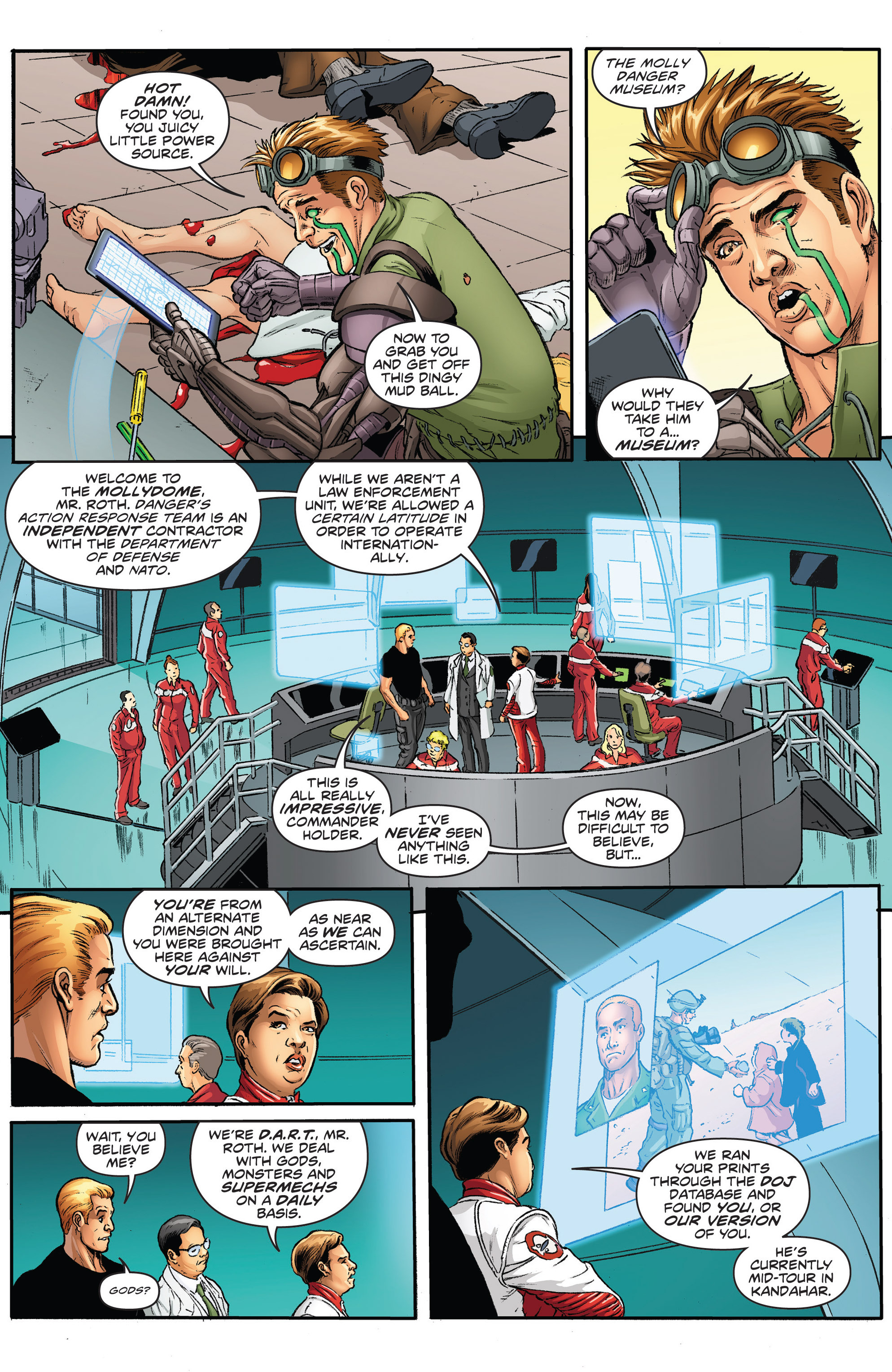Read online Actionverse comic -  Issue #2 - 7