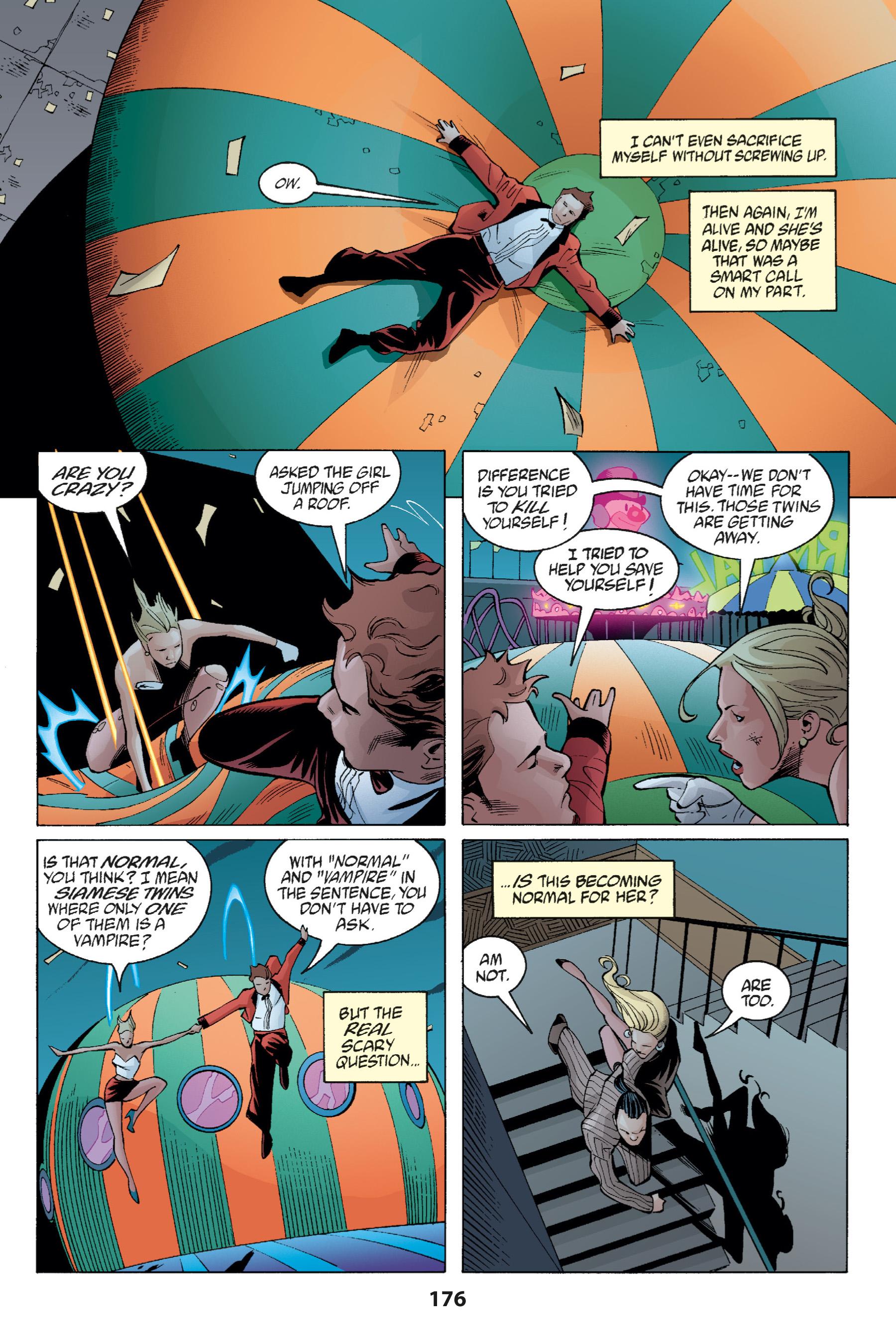 Read online Buffy the Vampire Slayer: Omnibus comic -  Issue # TPB 1 - 174
