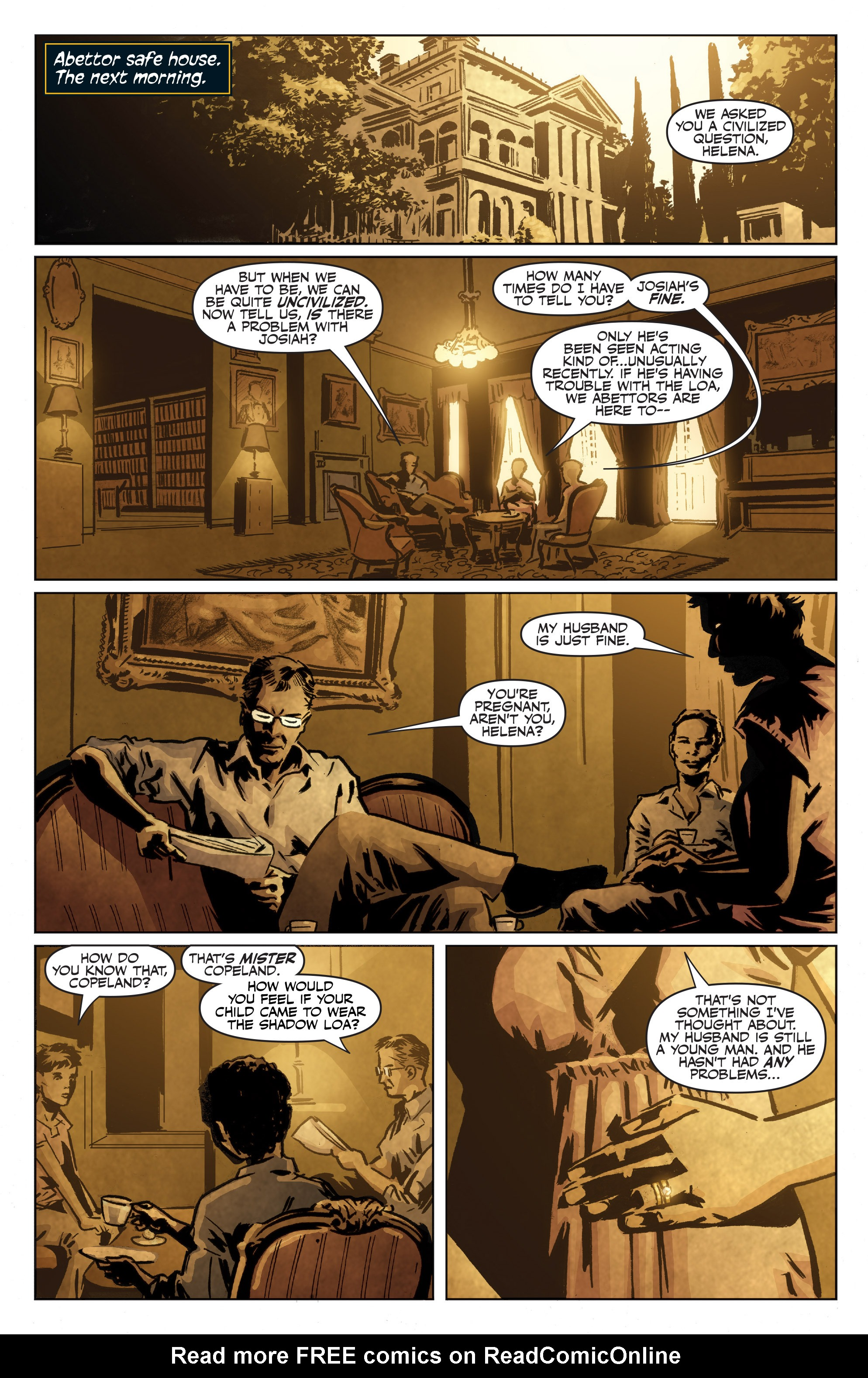 Read online Shadowman: End Times comic -  Issue #1 - 5