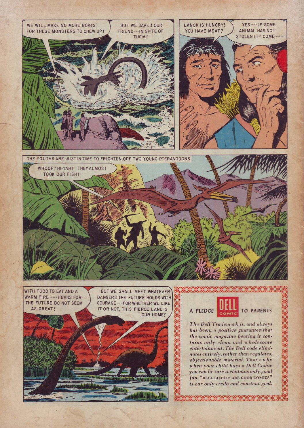 Read online Turok, Son of Stone comic -  Issue #3 - 36