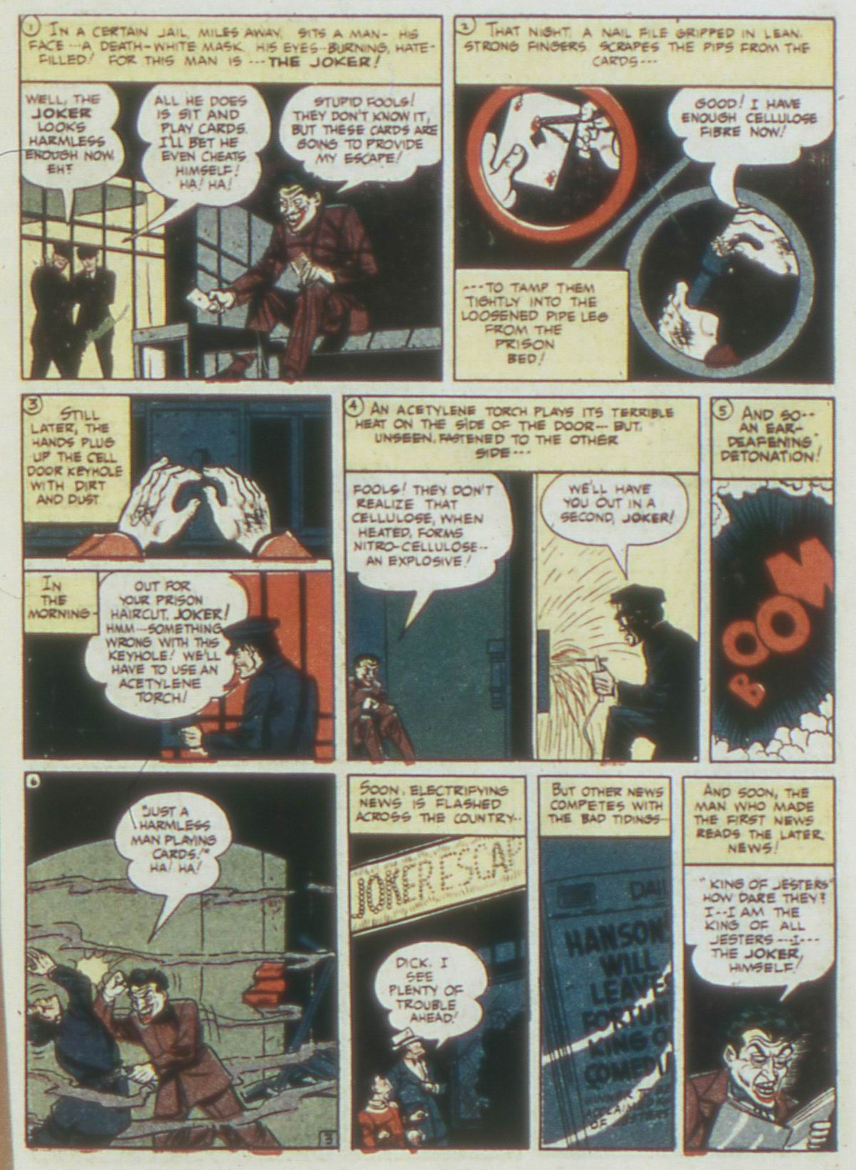 Read online Detective Comics (1937) comic -  Issue #62 - 5