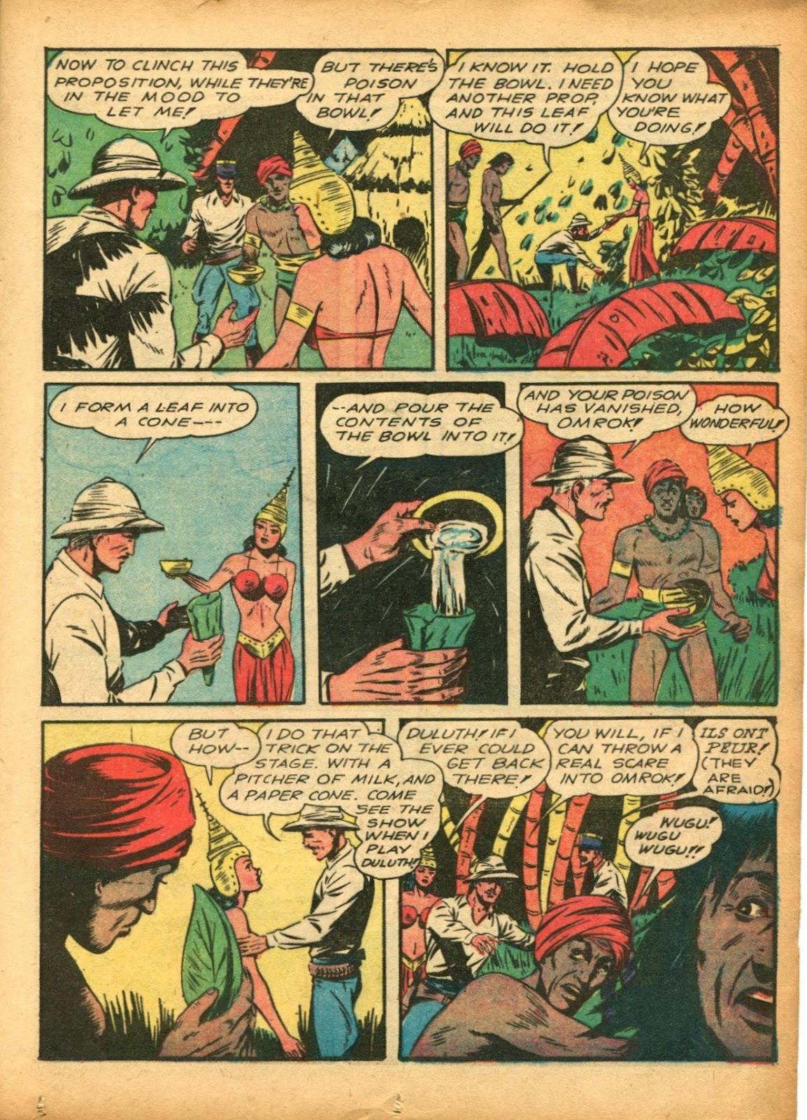 Read online Super-Magician Comics comic -  Issue #5 - 23