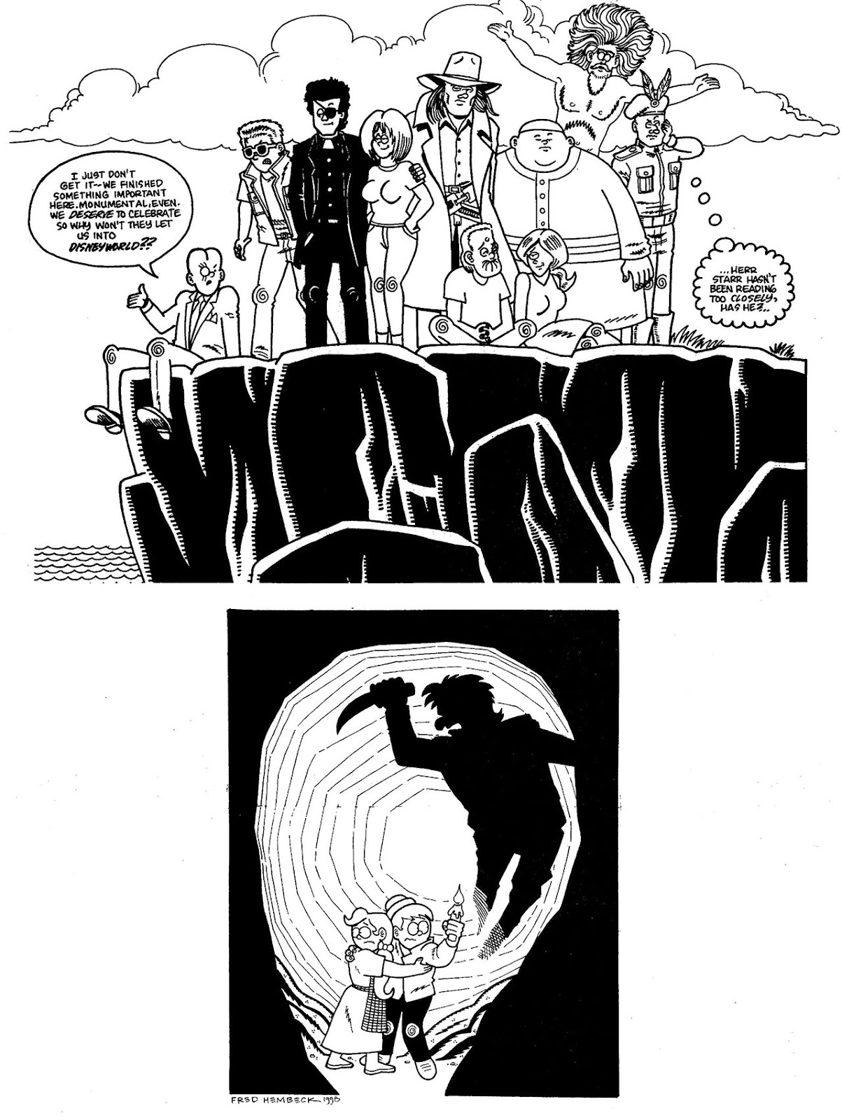 Read online The Nearly Complete Essential Hembeck Archives Omnibus comic -  Issue # TPB (Part 9) - 39