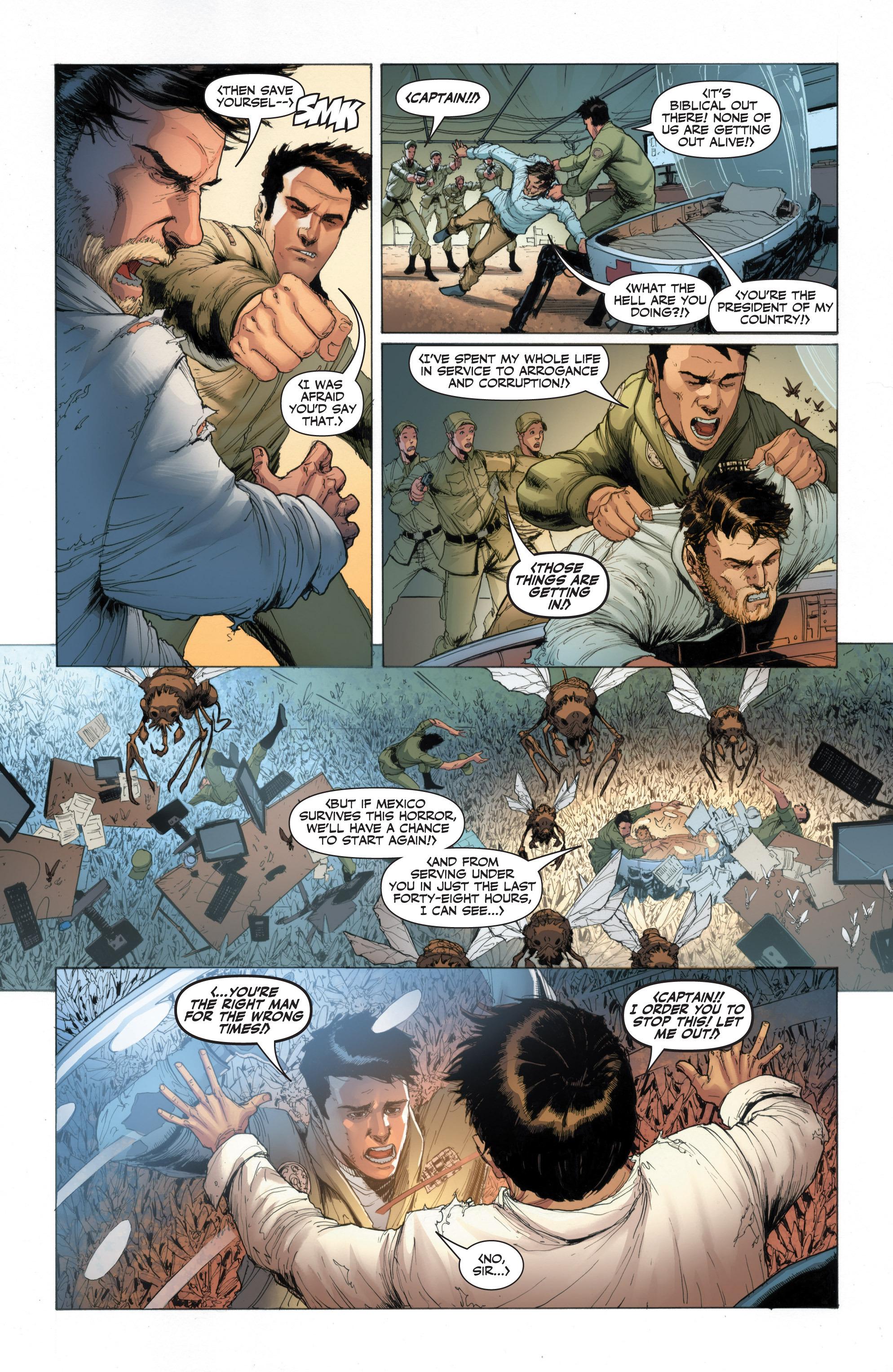 Read online Armor Hunters: Harbinger comic -  Issue # TPB - 67