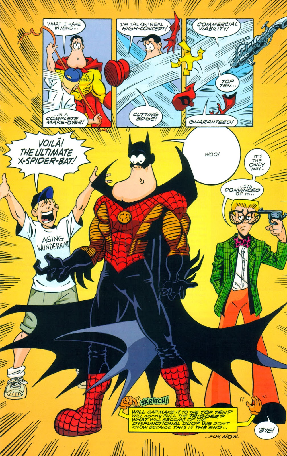 Read online Normalman 20th Anniversary Special comic -  Issue # Full - 21