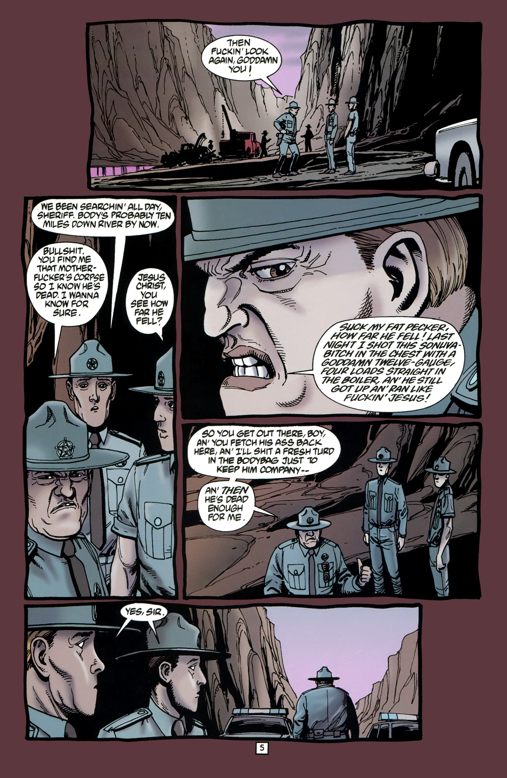 Read online Preacher Special: Cassidy : Blood and Whiskey comic -  Issue # Full - 7
