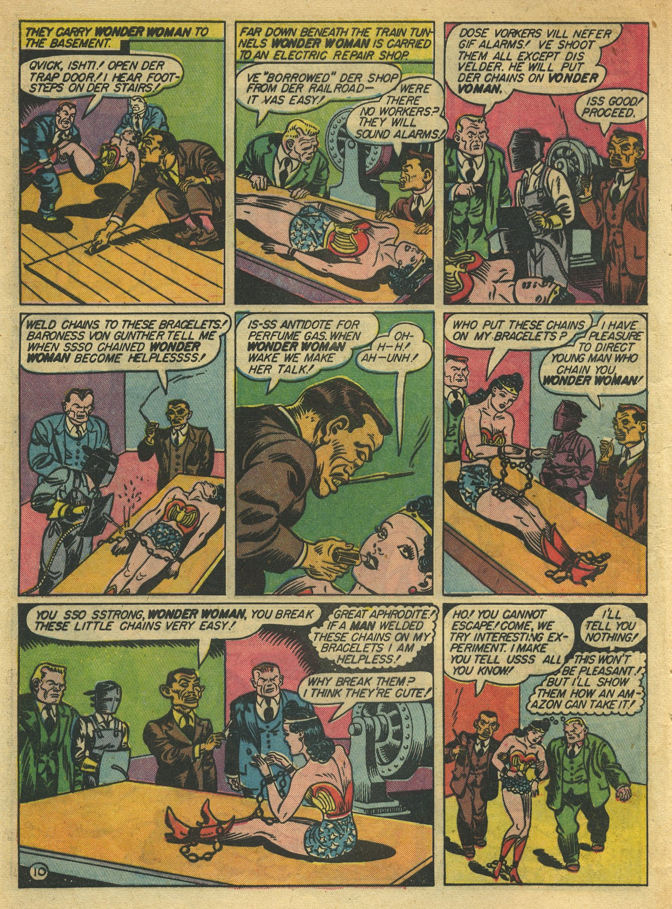 Read online Sensation (Mystery) Comics comic -  Issue #10 - 12
