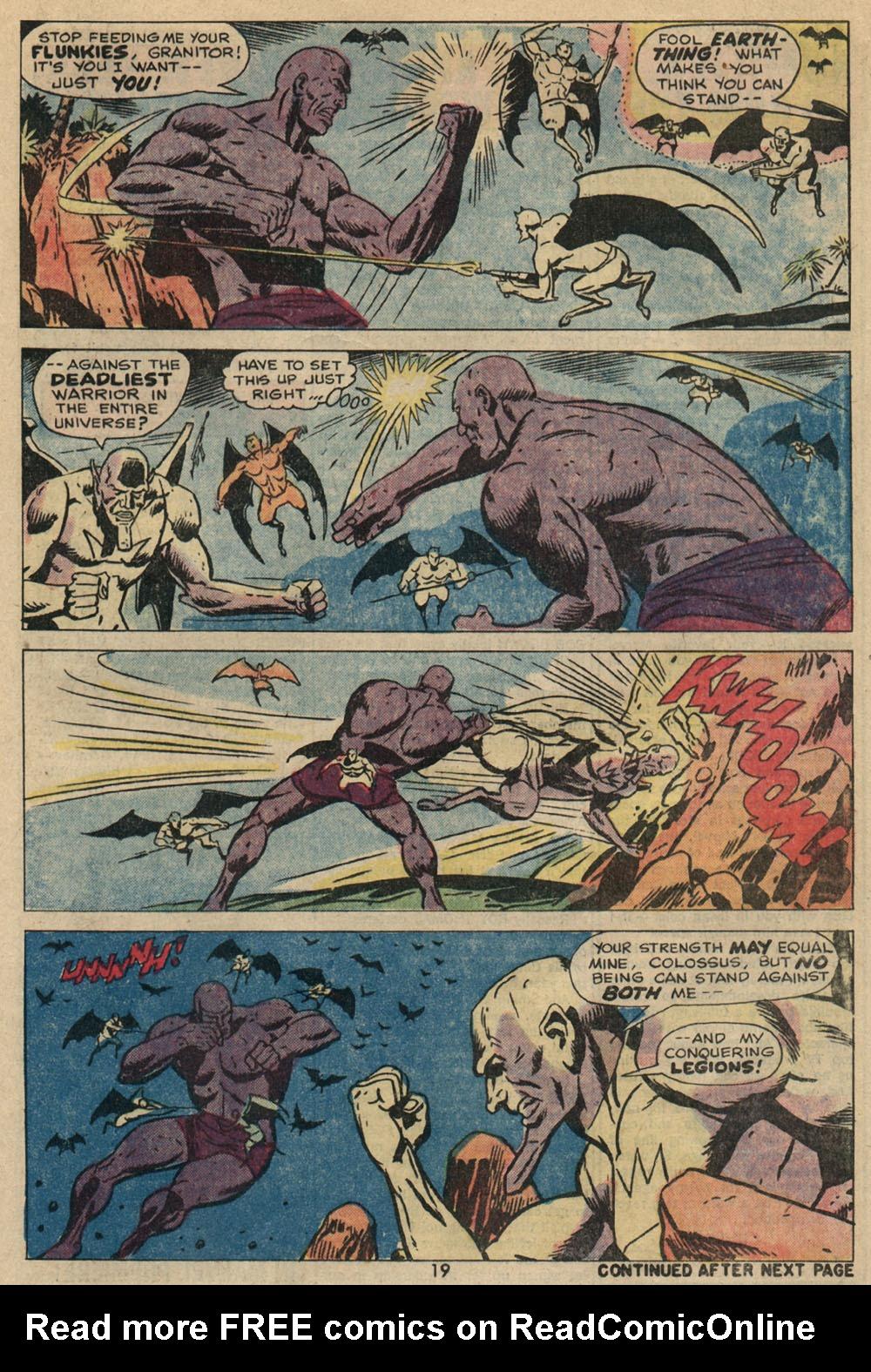 Read online Astonishing Tales (1970) comic -  Issue #23 - 14