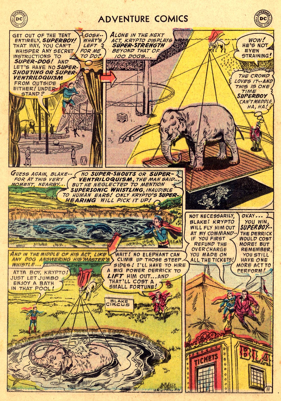 Read online Adventure Comics (1938) comic -  Issue #220 - 13