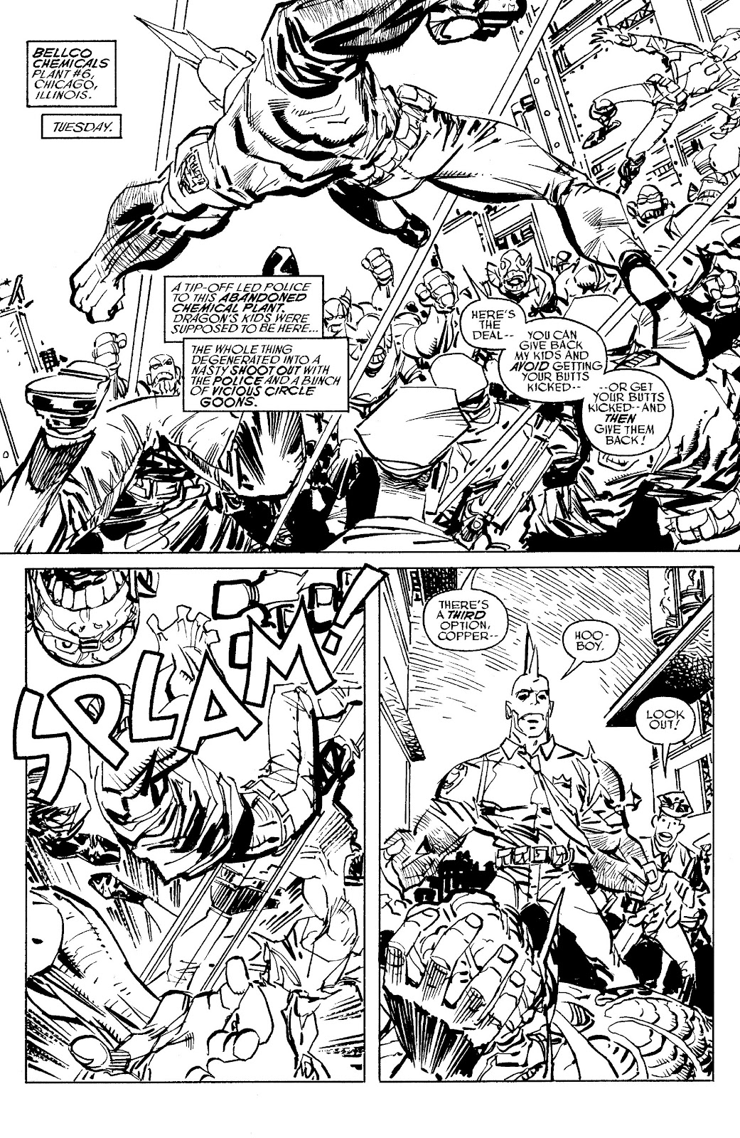 Read online Savage Dragon Archives comic -  Issue # TPB 6 (Part 5) - 14