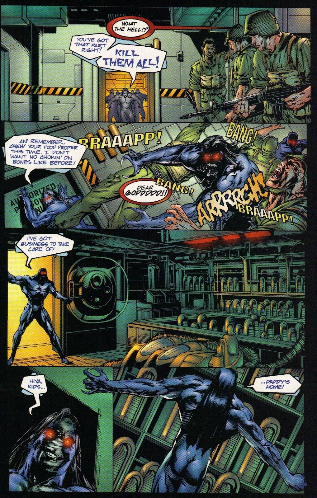 Vampirella vs Hemorrhage issue 1 - Page 5