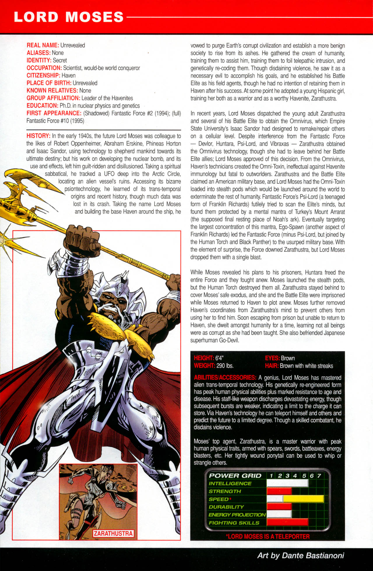 Read online All-New Official Handbook of the Marvel Universe A to Z: Update comic -  Issue #2 - 38