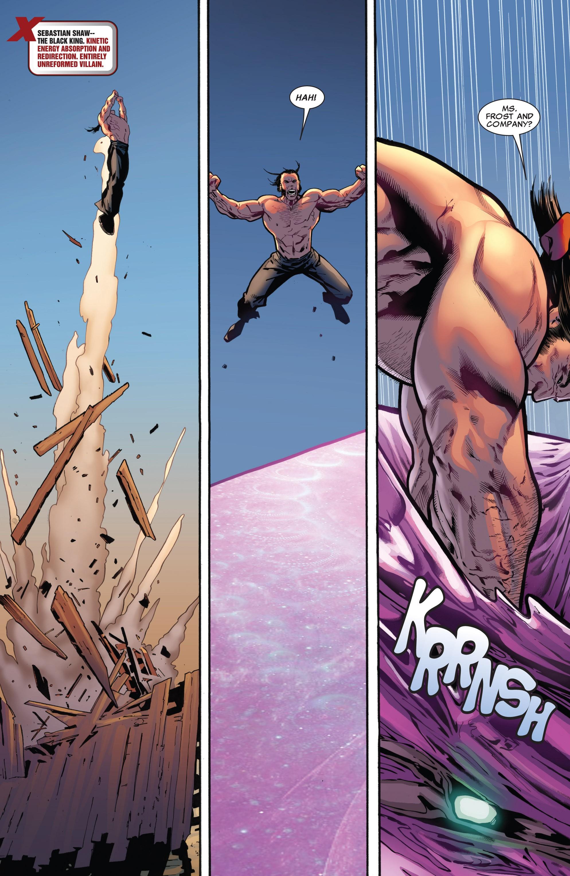 Read online Uncanny X-Men (1963) comic -  Issue #532 - 4