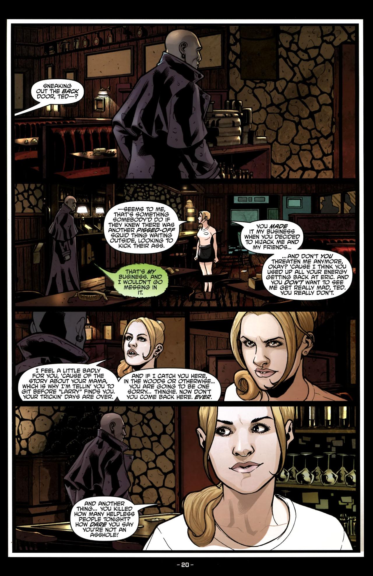 Read online True Blood (2010) comic -  Issue #6 - 22