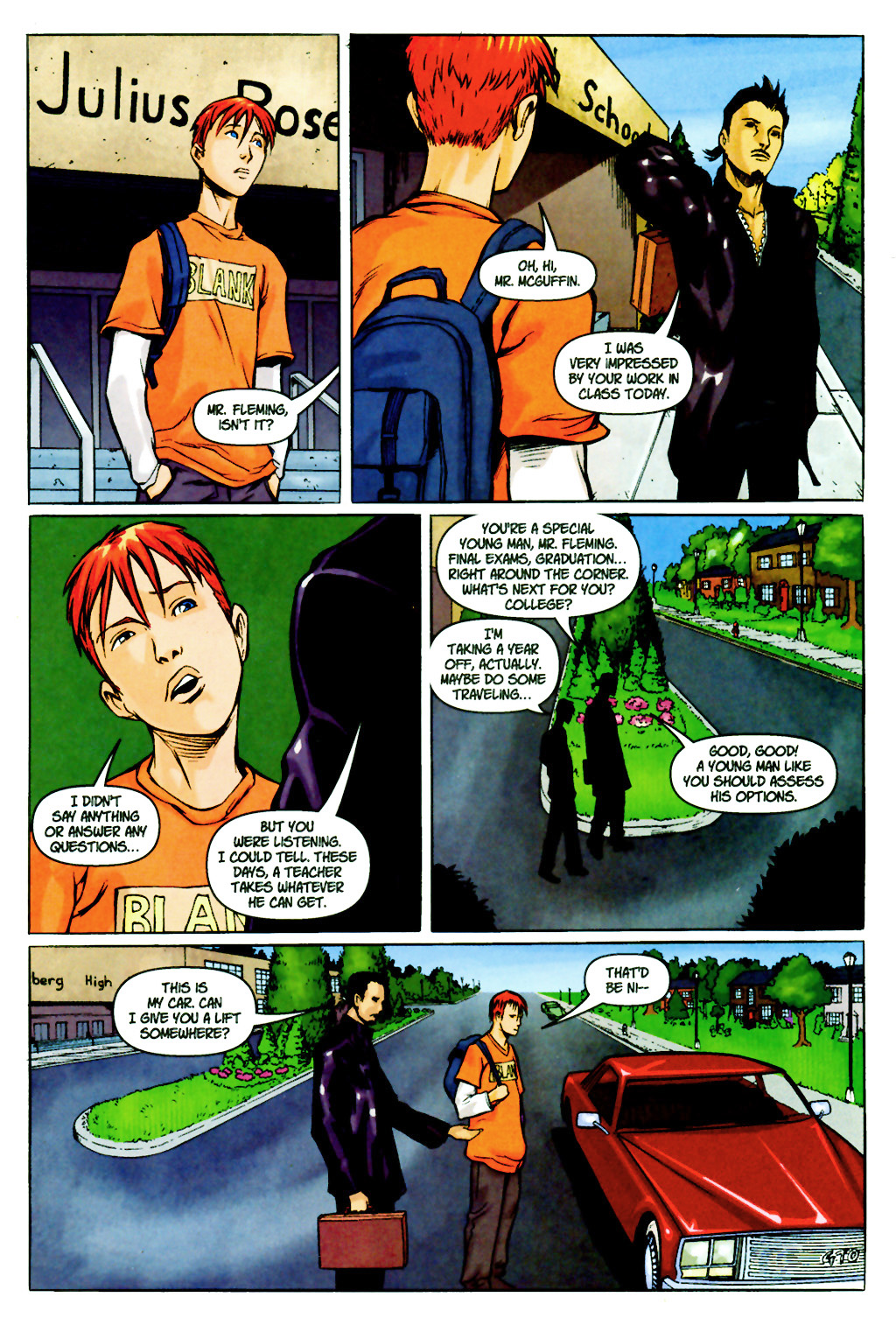 Read online SpyBoy: Final Exam comic -  Issue #2 - 7