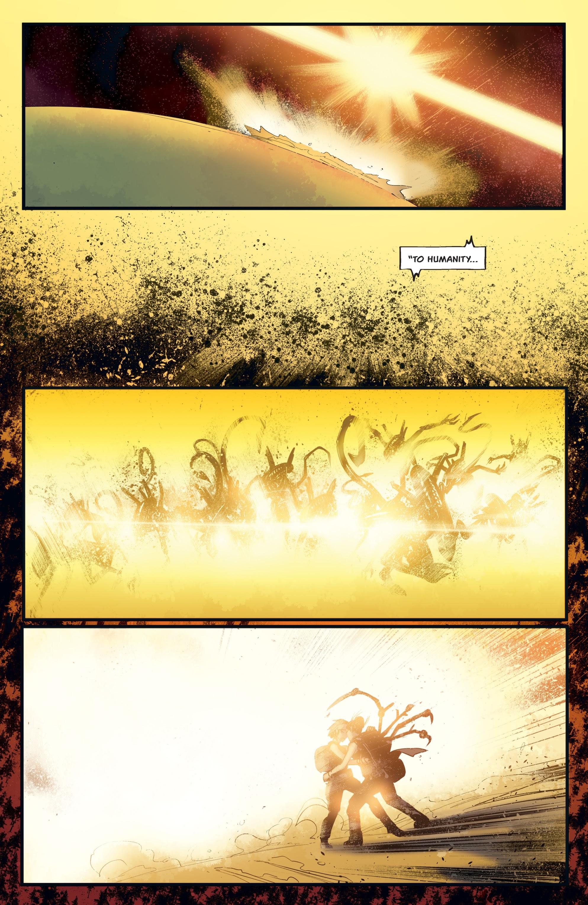 Read online Aliens: Resistance comic -  Issue # _TPB - 91
