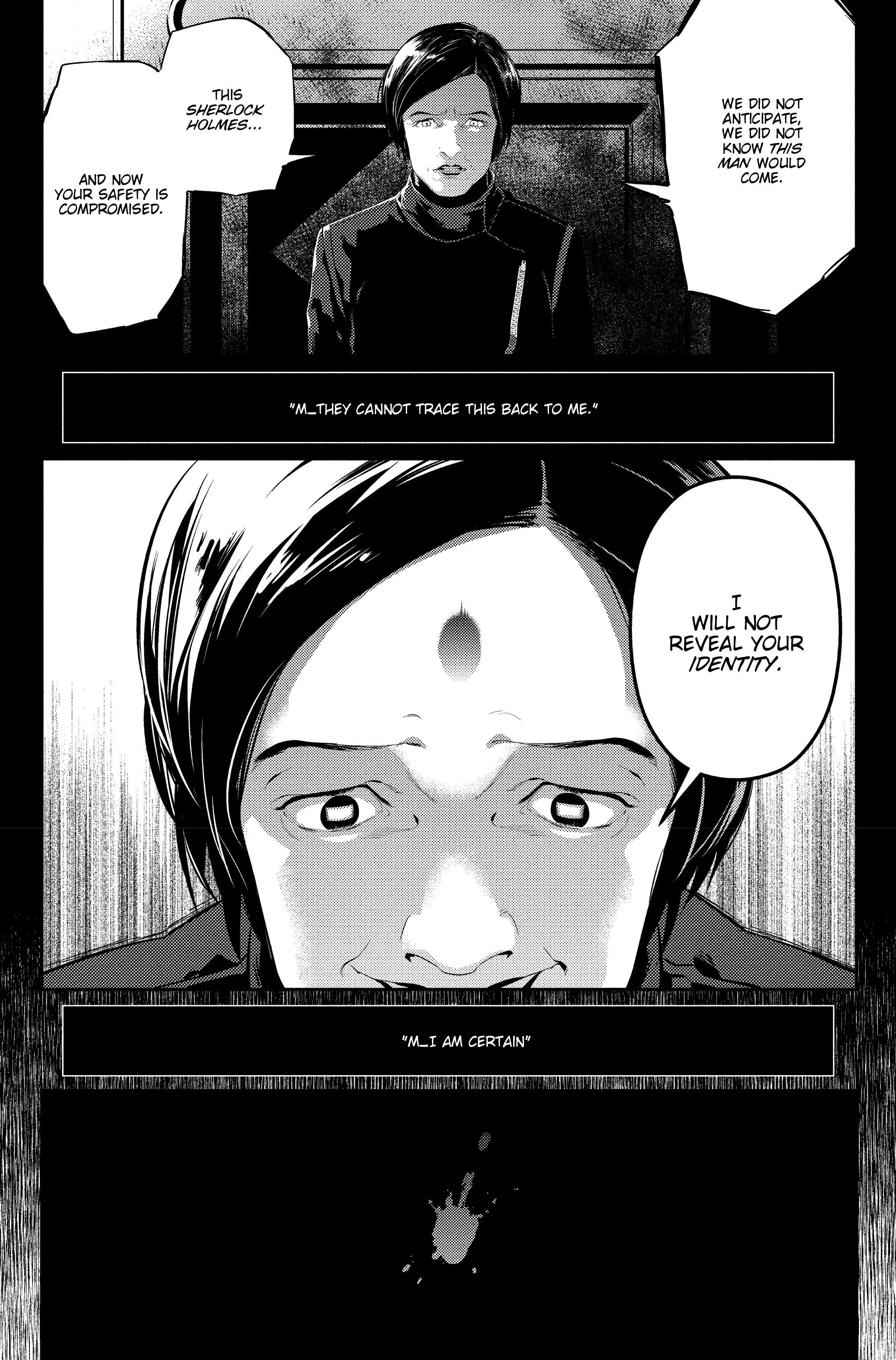 Read online Sherlock: The Blind Banker comic -  Issue #6 - 25