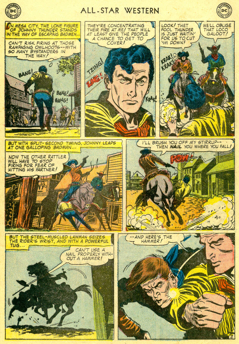 Read online All-Star Western (1951) comic -  Issue #78 - 29