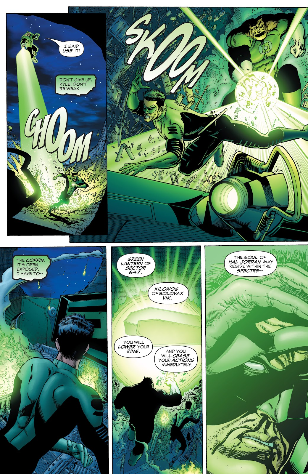 Read online Green Lantern by Geoff Johns comic -  Issue # TPB 1 (Part 1) - 63